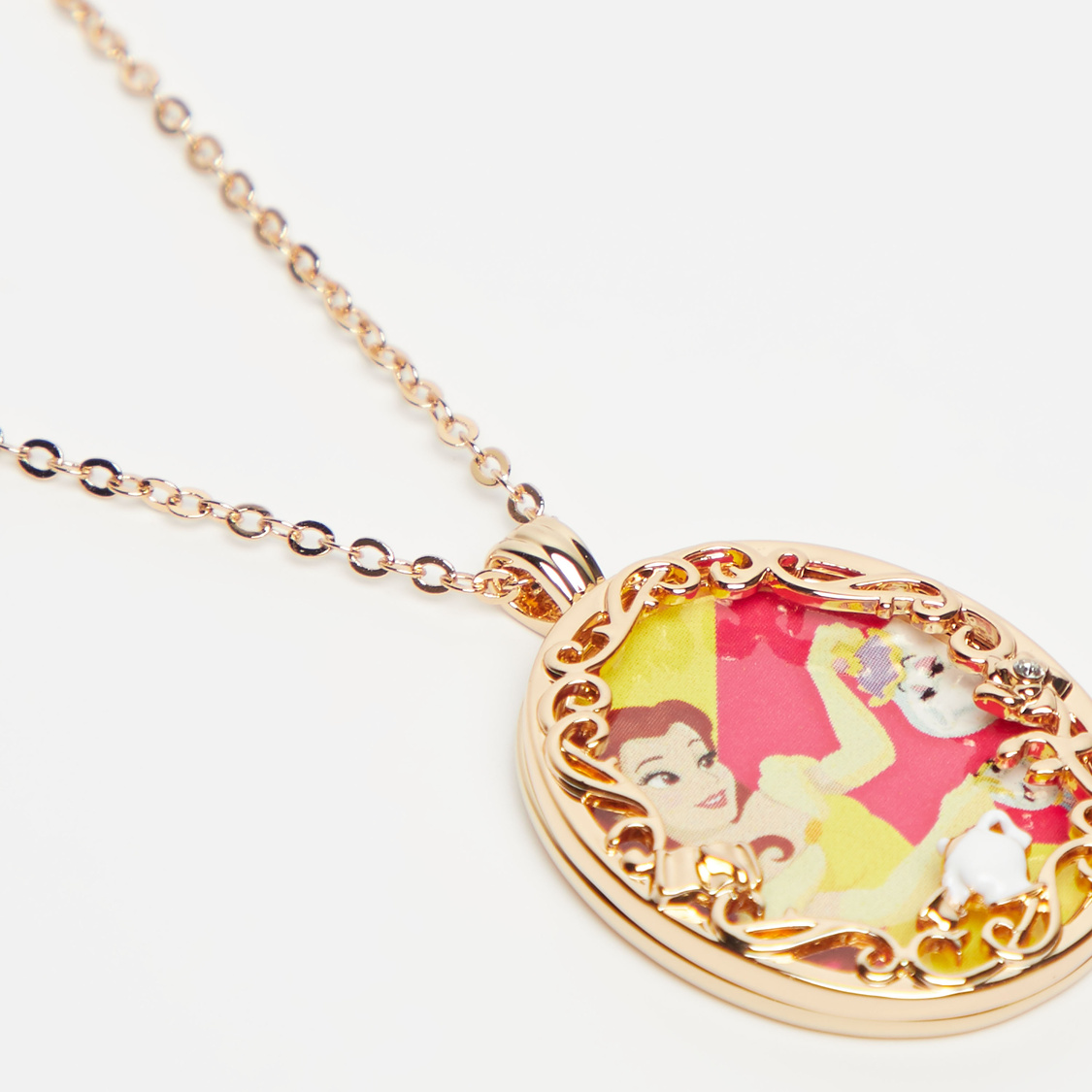 Princess Pendant Necklace with Lobster Clasp