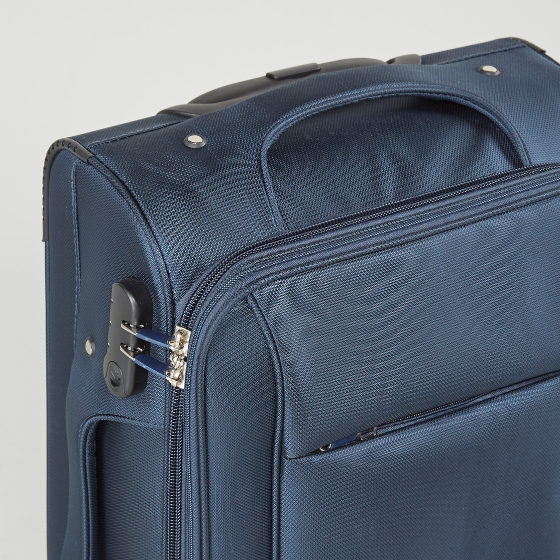 Textured Soft Case Trolley Bag