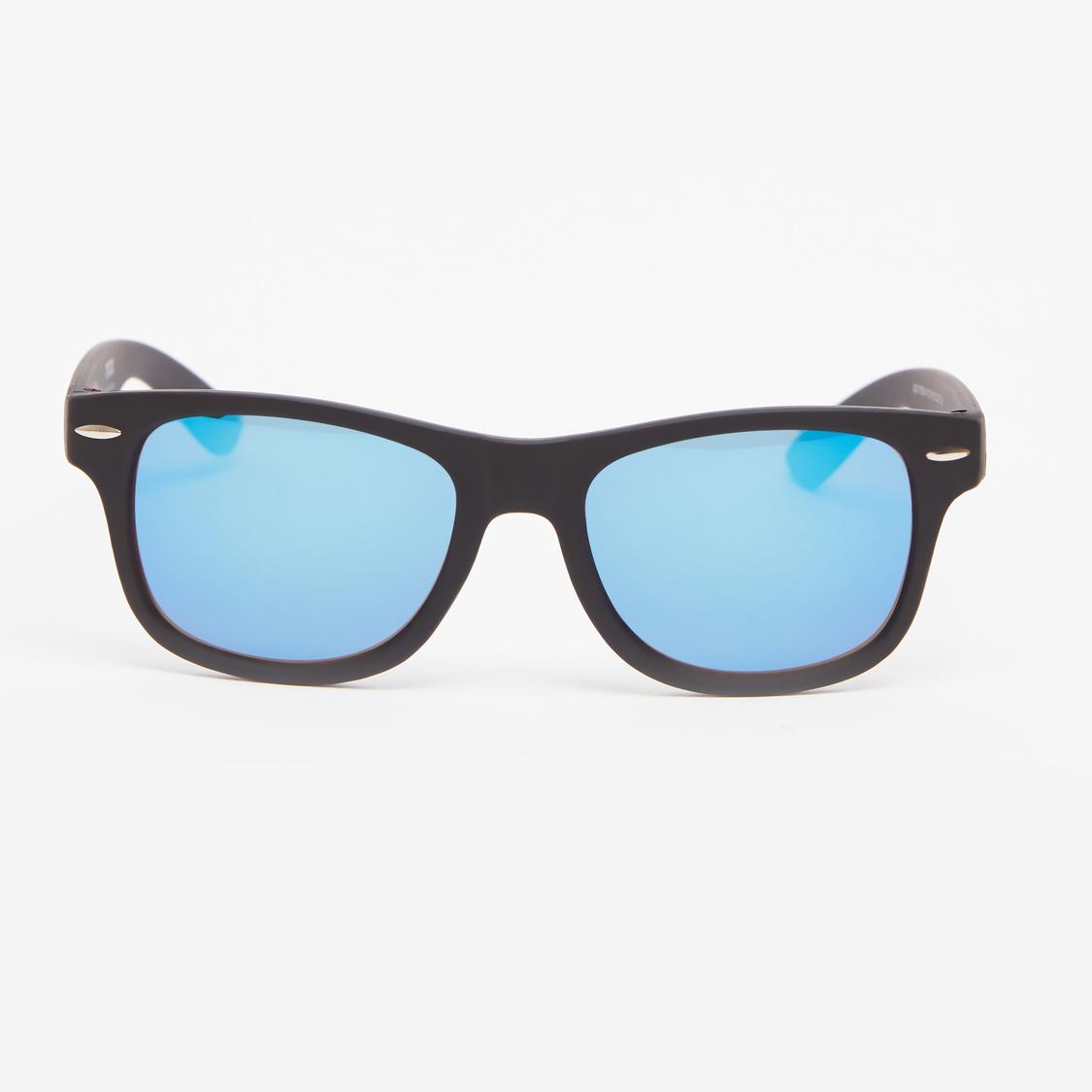 Full Rim Wayfarer Sunglasses with Nose Pads