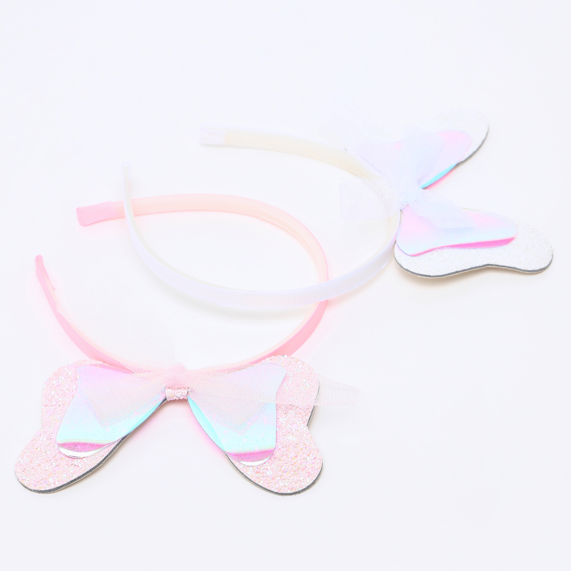 Set of 2 - Bow Accented Hairband