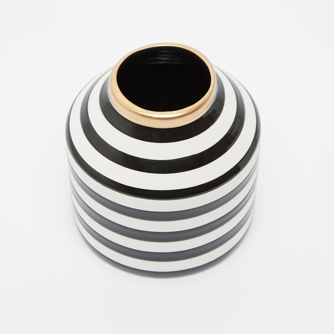 Striped Decorative Vase
