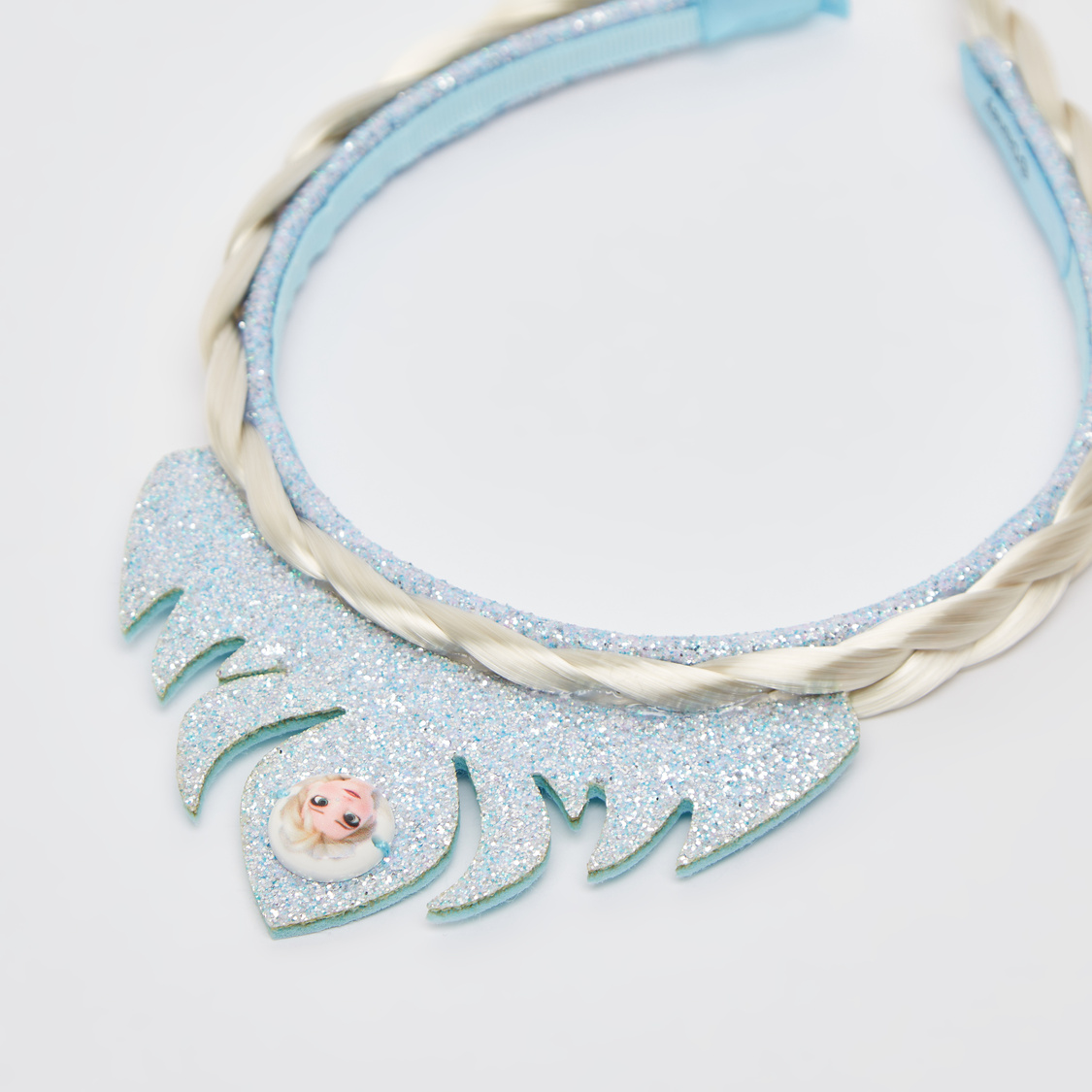 Frozen Themed Hairband with Braid Extension