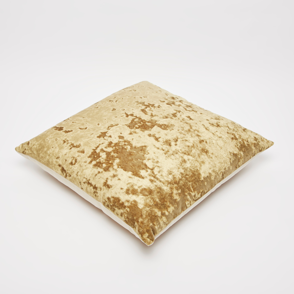 Textured Filled Cushion with Zip Closure- 45x45 cms