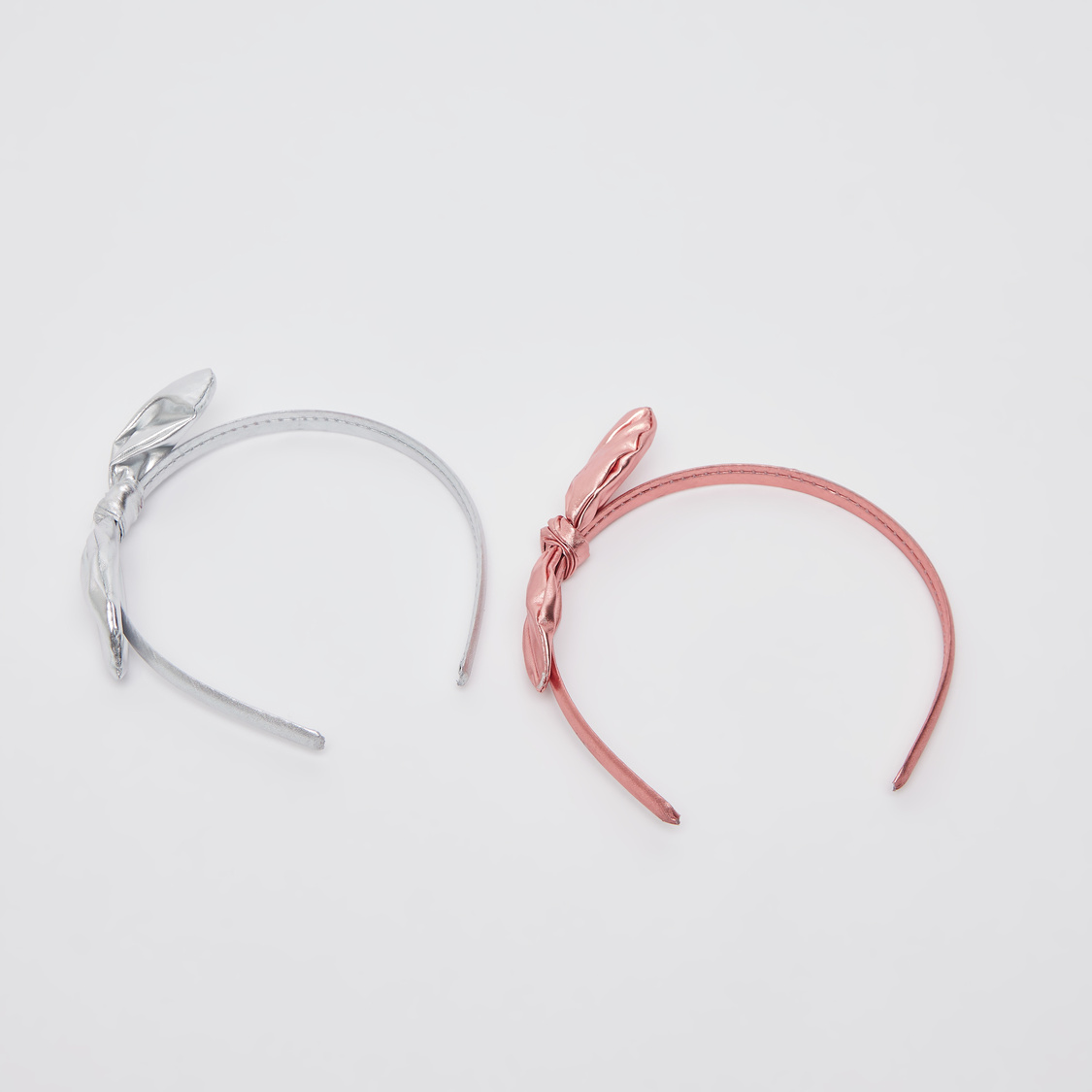 Set of 2 - Knot Applique Detail Hairband
