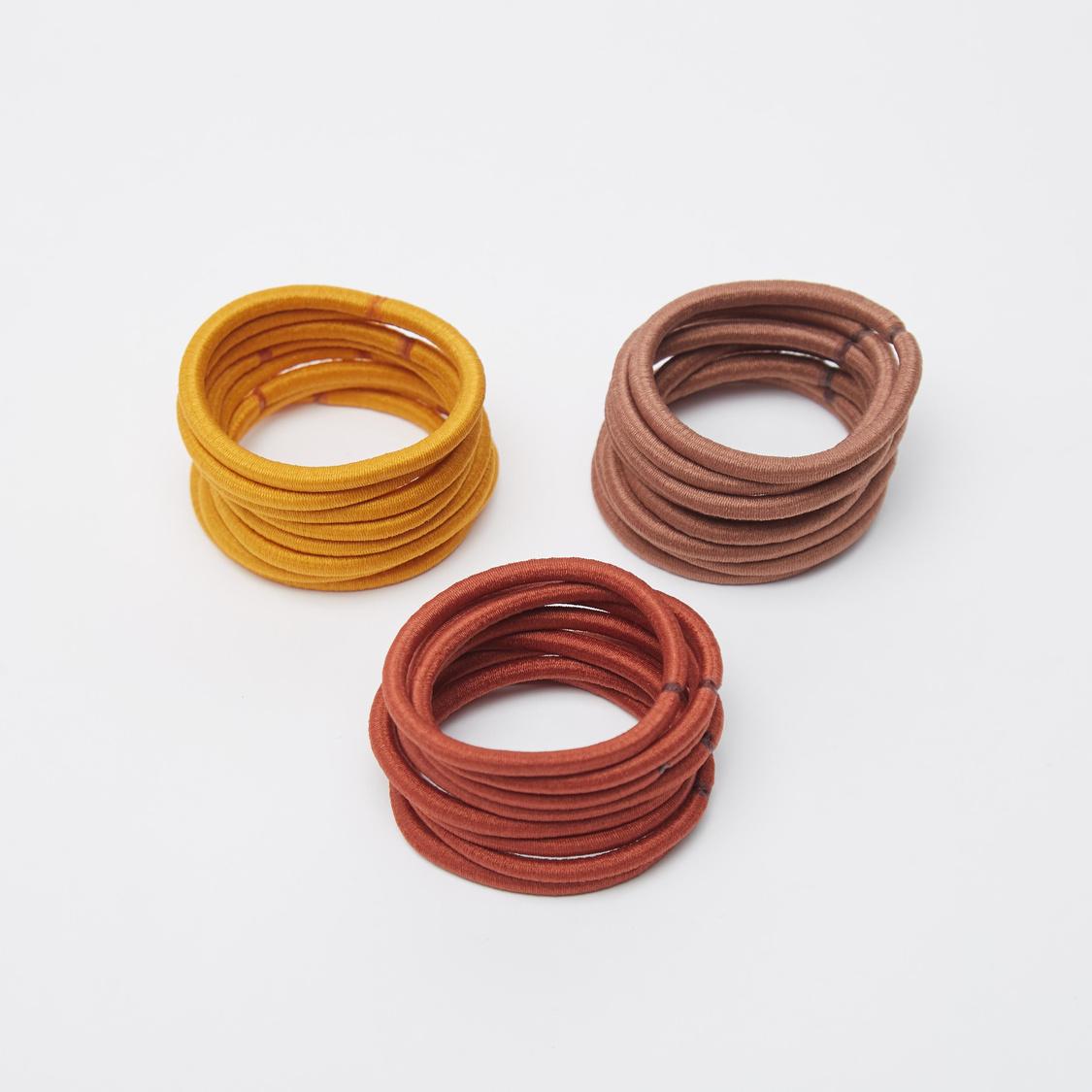 24-Piece Plain Elastic Round Bands