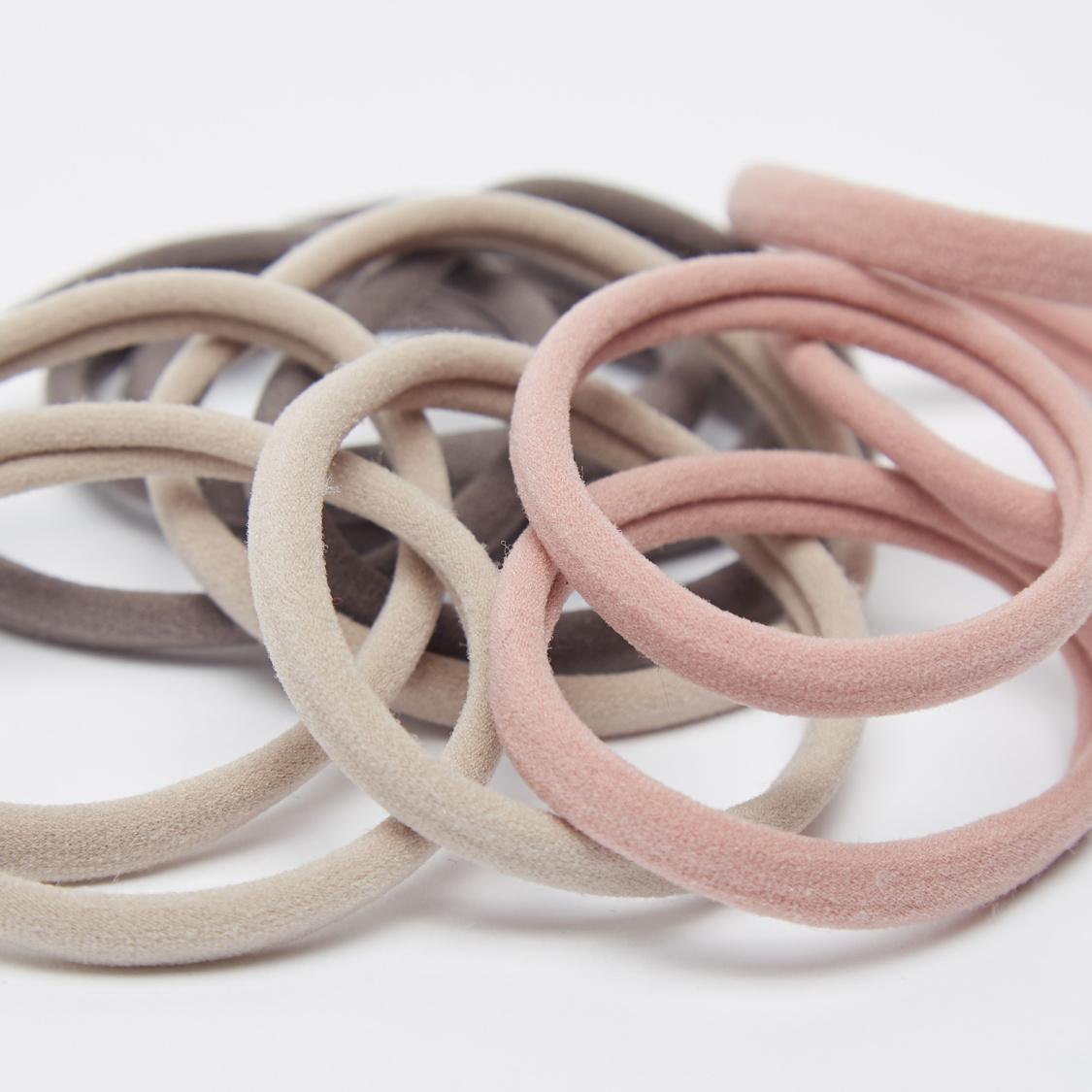Set of 12 - Solid Hair Ties