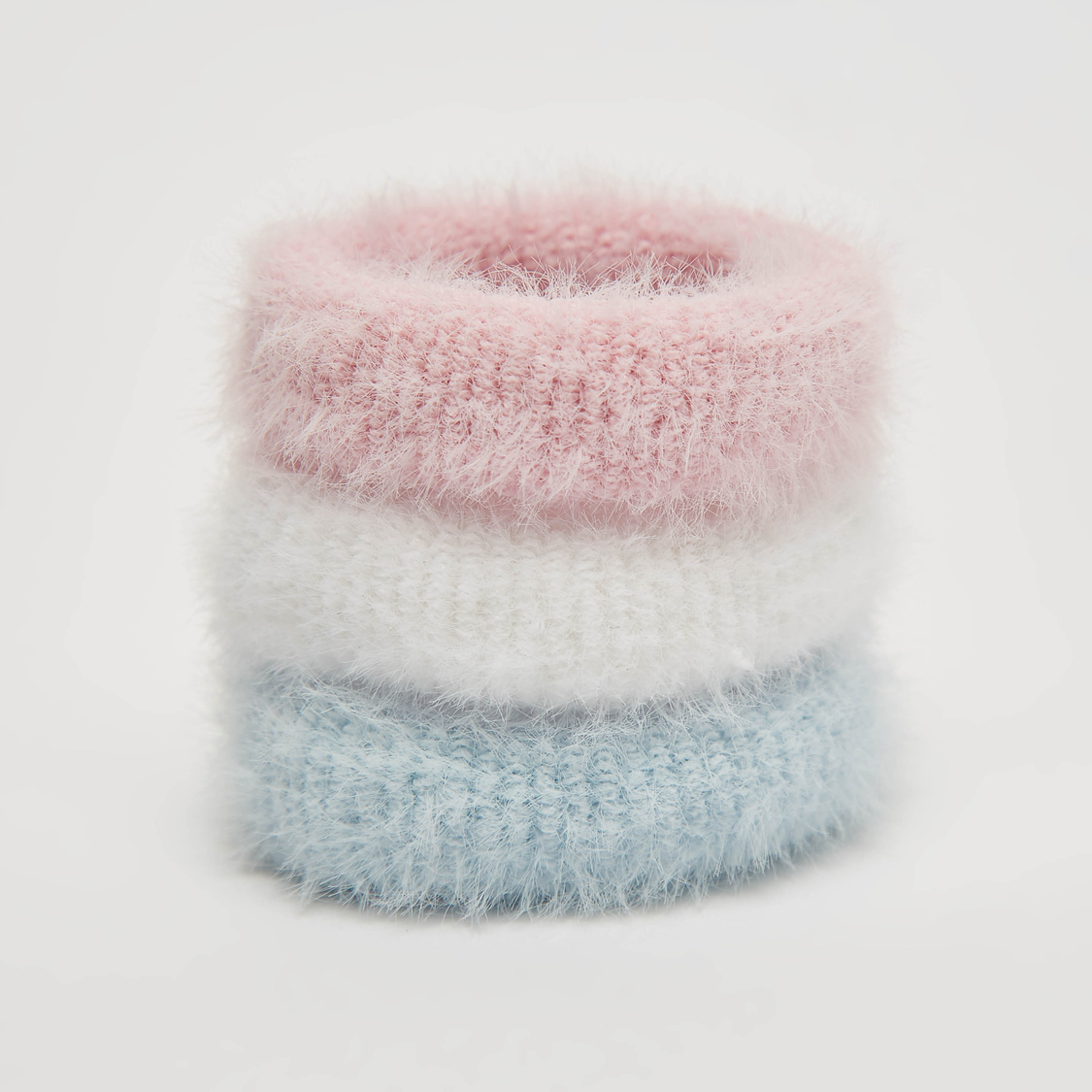 Set of 3 - Textured Hair Tie