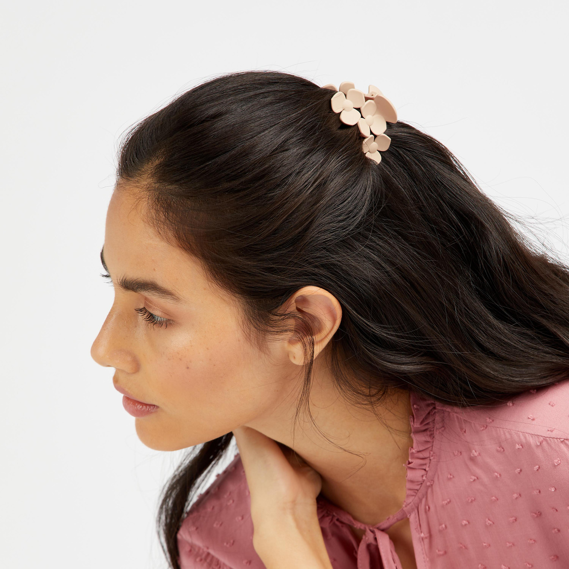 Set of 3 - Solid Clamp Hair Clip