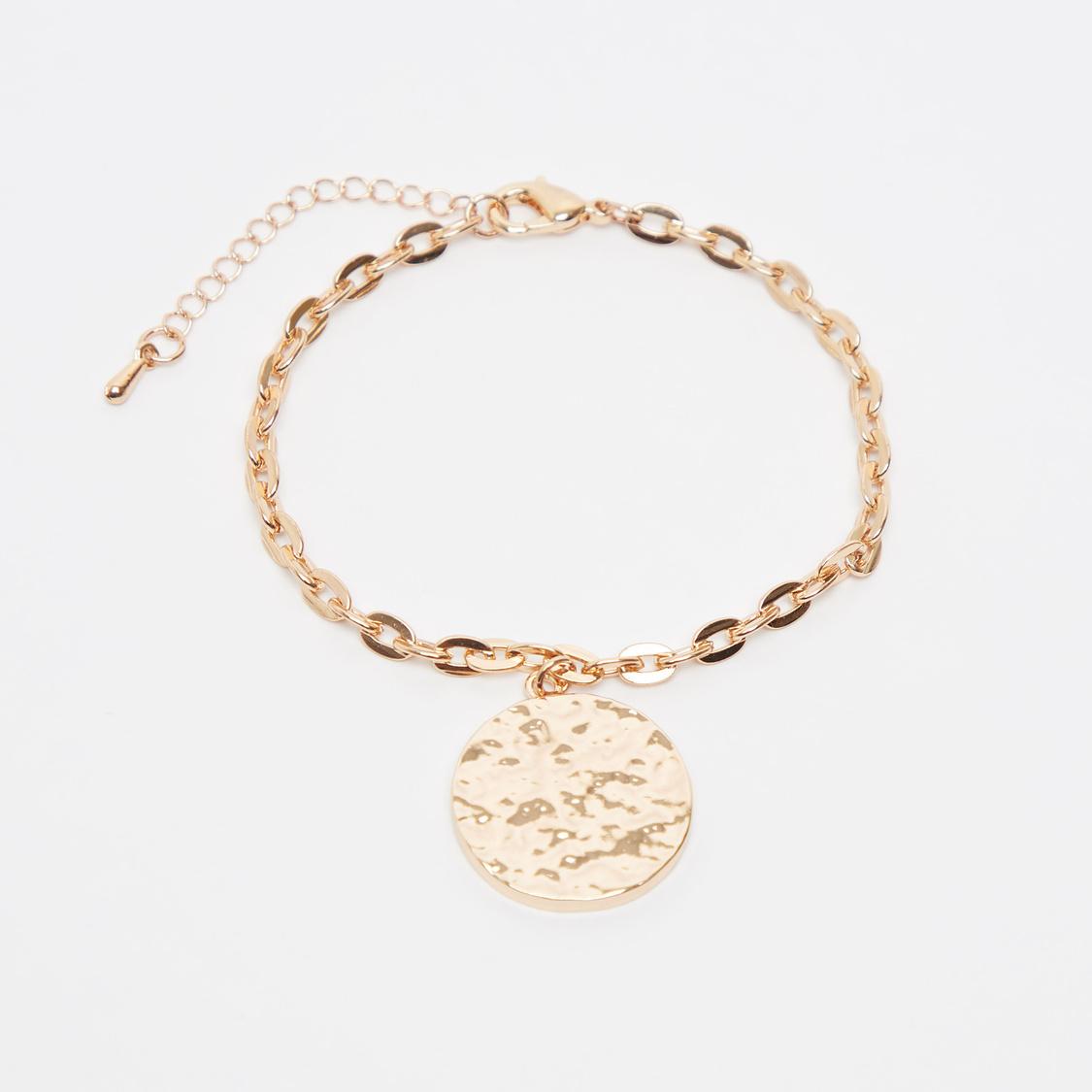 Set of 5 - Embellished Bracelet with Lobster Clasp