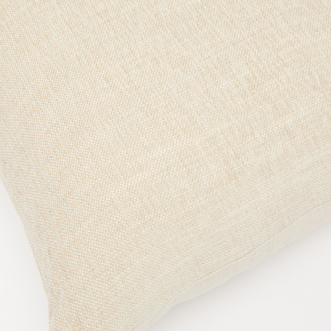 Textured Square Filled Cushion - 43x43 cms