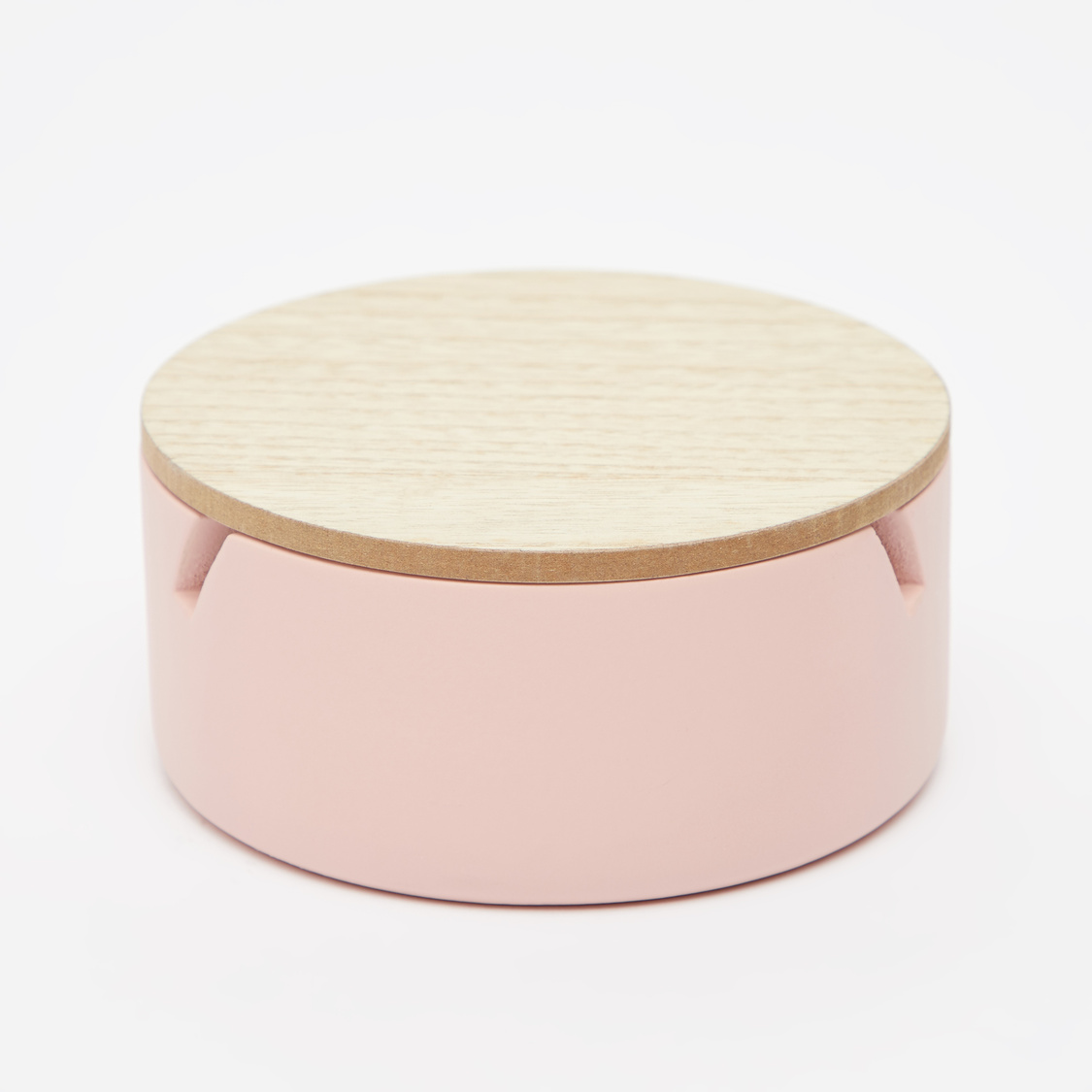 Solid 3-Section Jewellery Box - 13x13x6cms