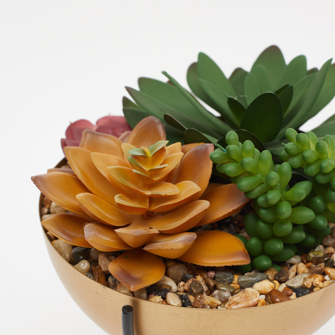 Artificial Succulents in Pot with Stand