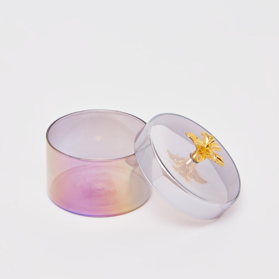 Decorative Jewellery Box with Lid 9.5x8 cm