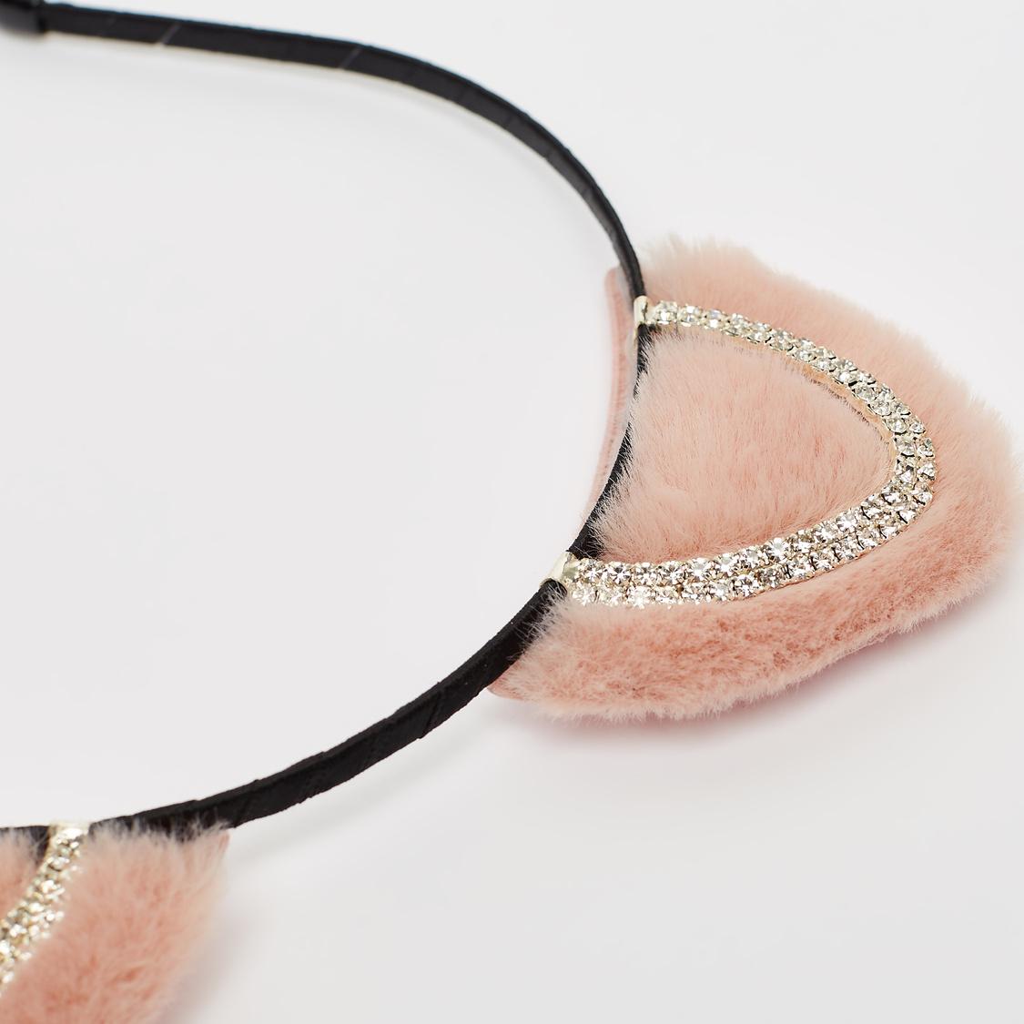 Embellished Applique Detail Hair Band