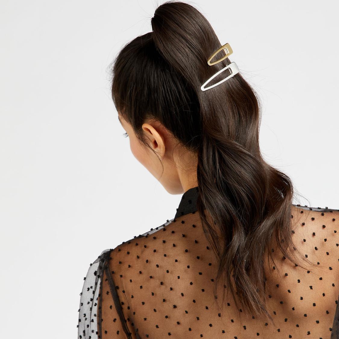 Set of 3 - Crocodile Hair Clips