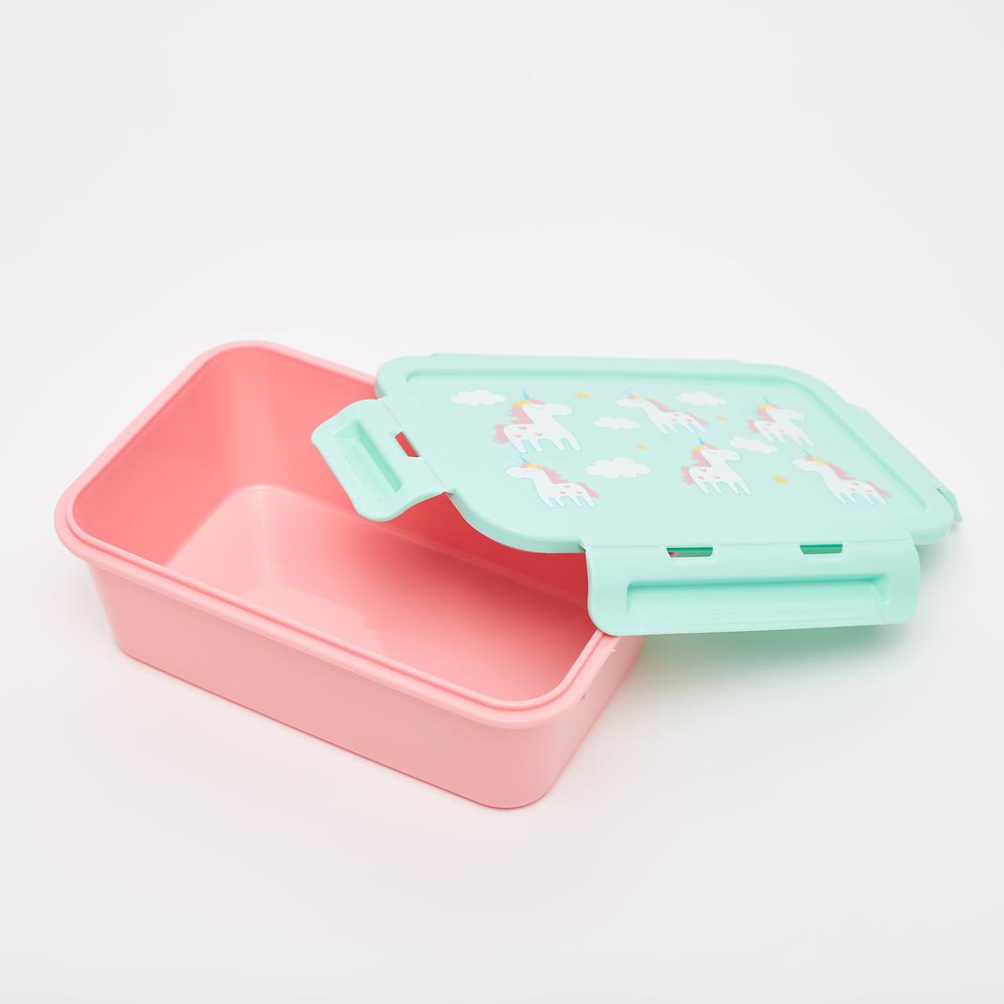 صندوق غداء بطبعات يونيكورن - 1100 مل