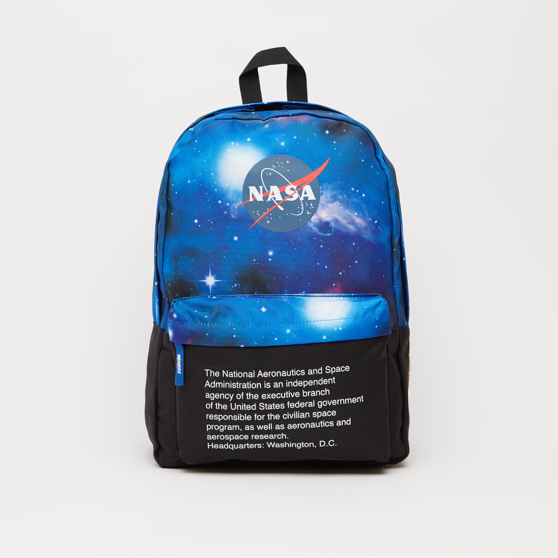 NASA Print Backpack with Adjustable Shoulder Straps - 16 Inches