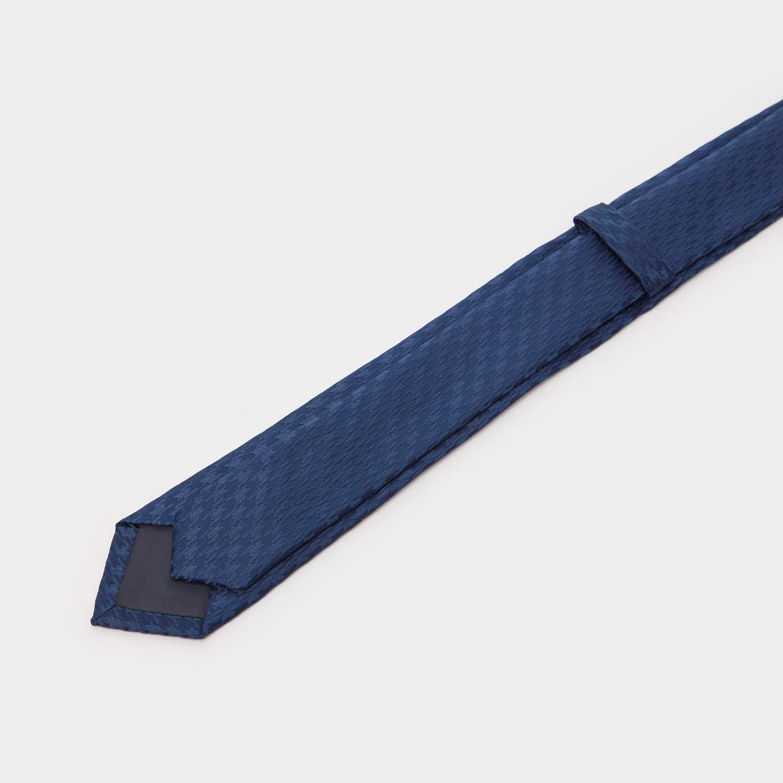 Self Design Slim Tie with Keeper Loop