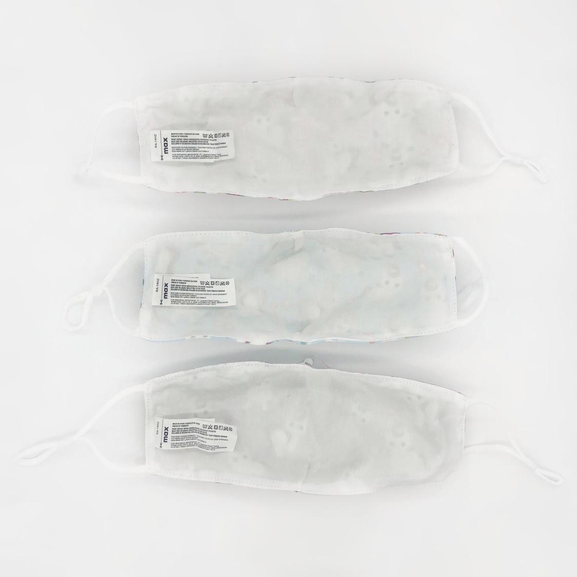 Set of 3 - Unicorn Print Reusable Mask