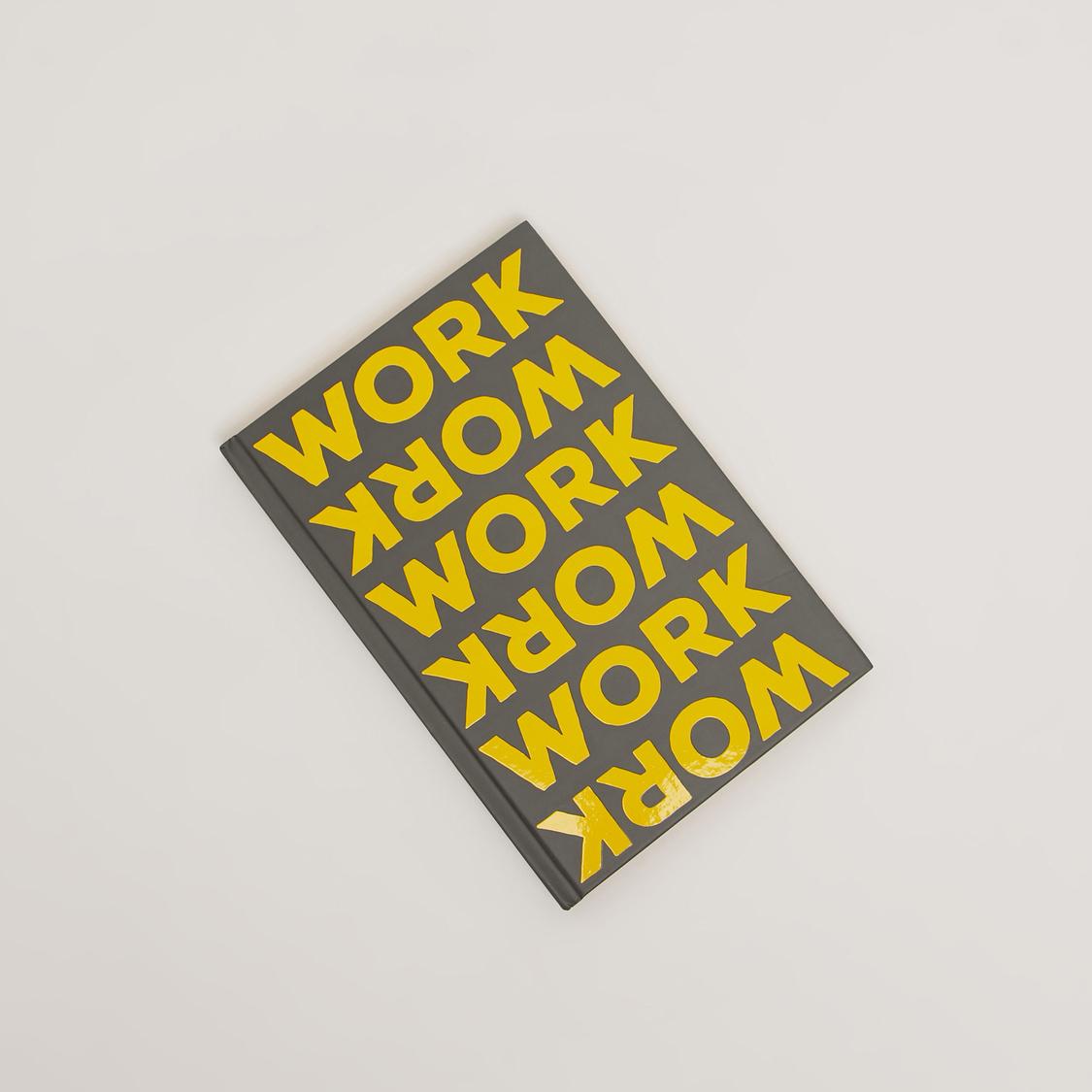 Slogan Print Single Ruled Notebook