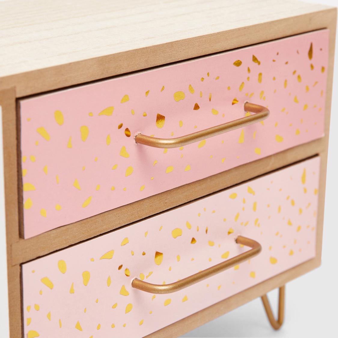 Wooden Decorative Table Top Jewellery Organiser
