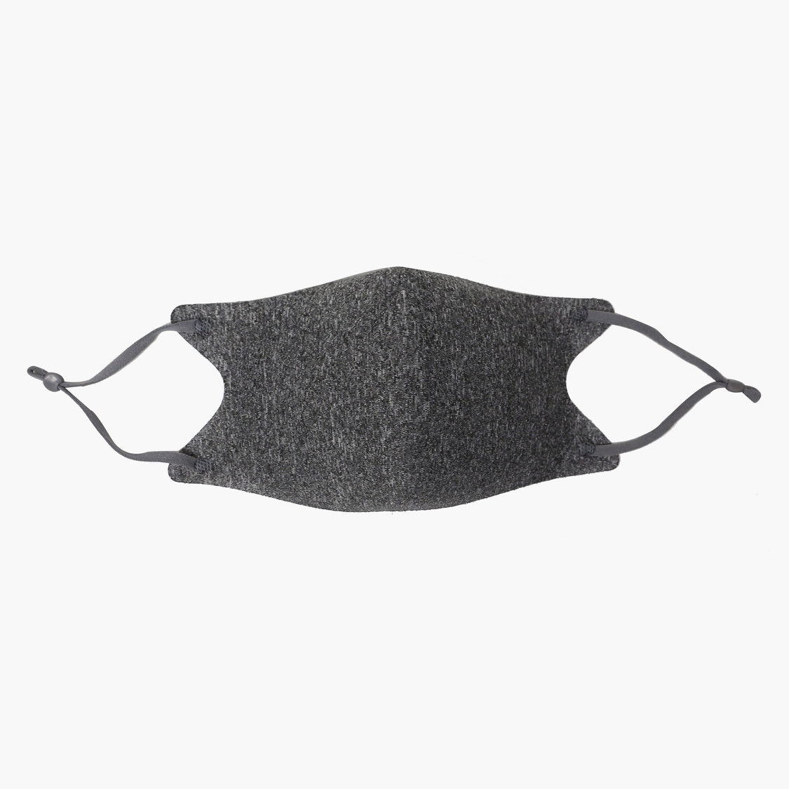 Set of 3 - Solid Reusable Mask with Adjustable Straps