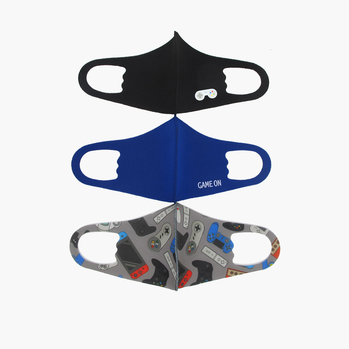 Set of 3 - Printed Anti-Dust Mask