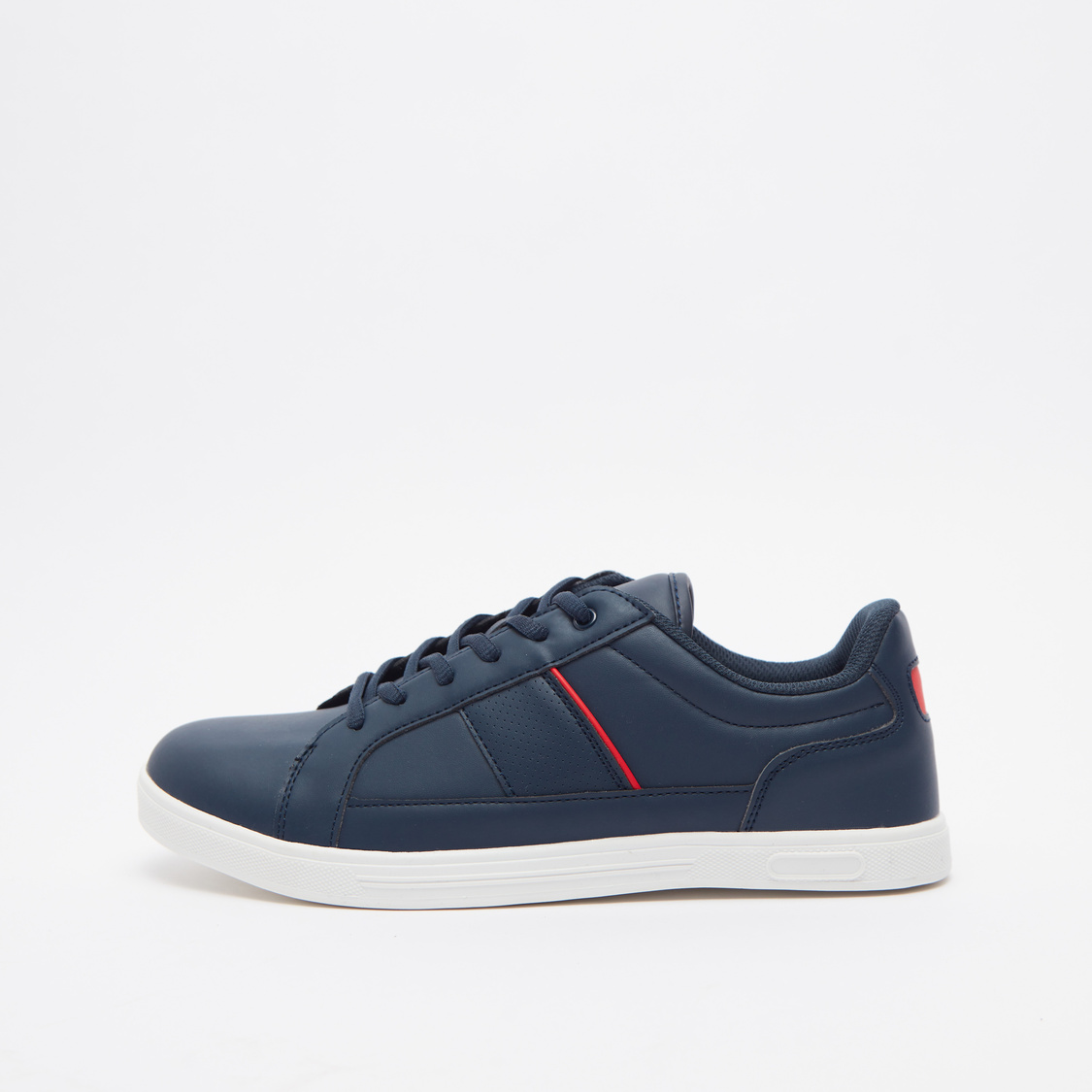 Panel Detail Lace-Up Sneakers