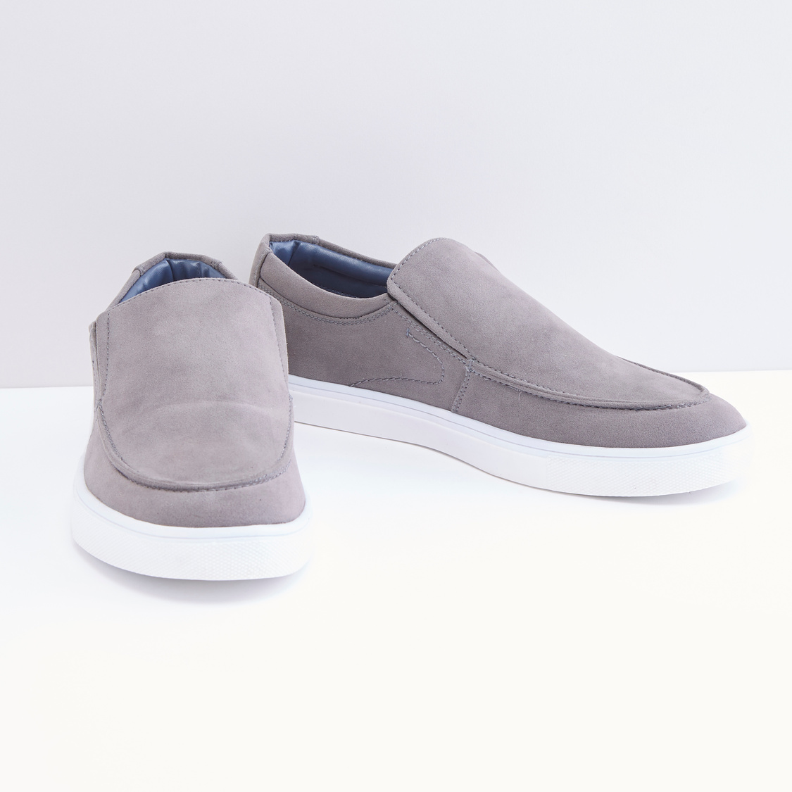 Slip on Shoes with Stitch Detail