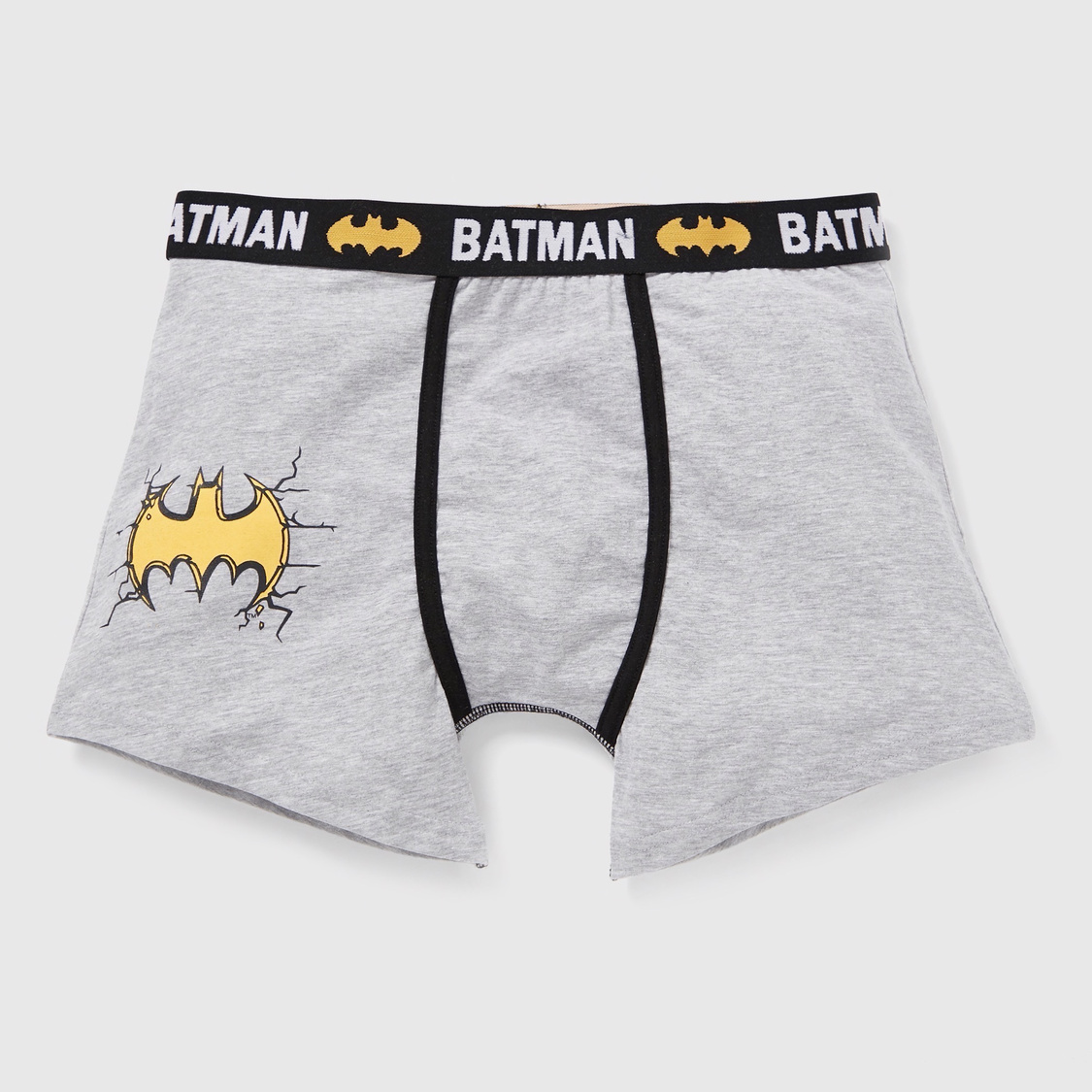 Pack of 2 - Batman Graphic Print Trunks with Elasticised Waistband