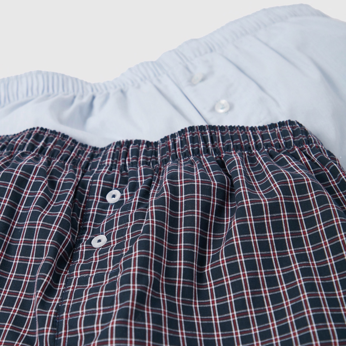 Pack of 2 - Assorted Boxer Briefs with Button Detail