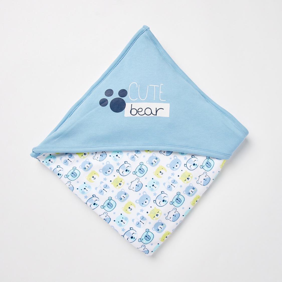Bear Print GOTS Organic Cotton 7-Piece Gift Set