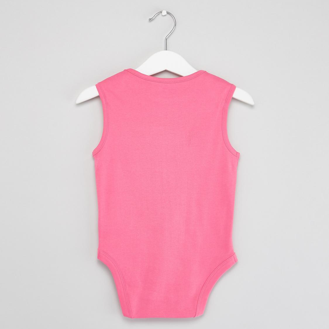 Set of 3 - Assorted Print Sleeveless Bodysuit