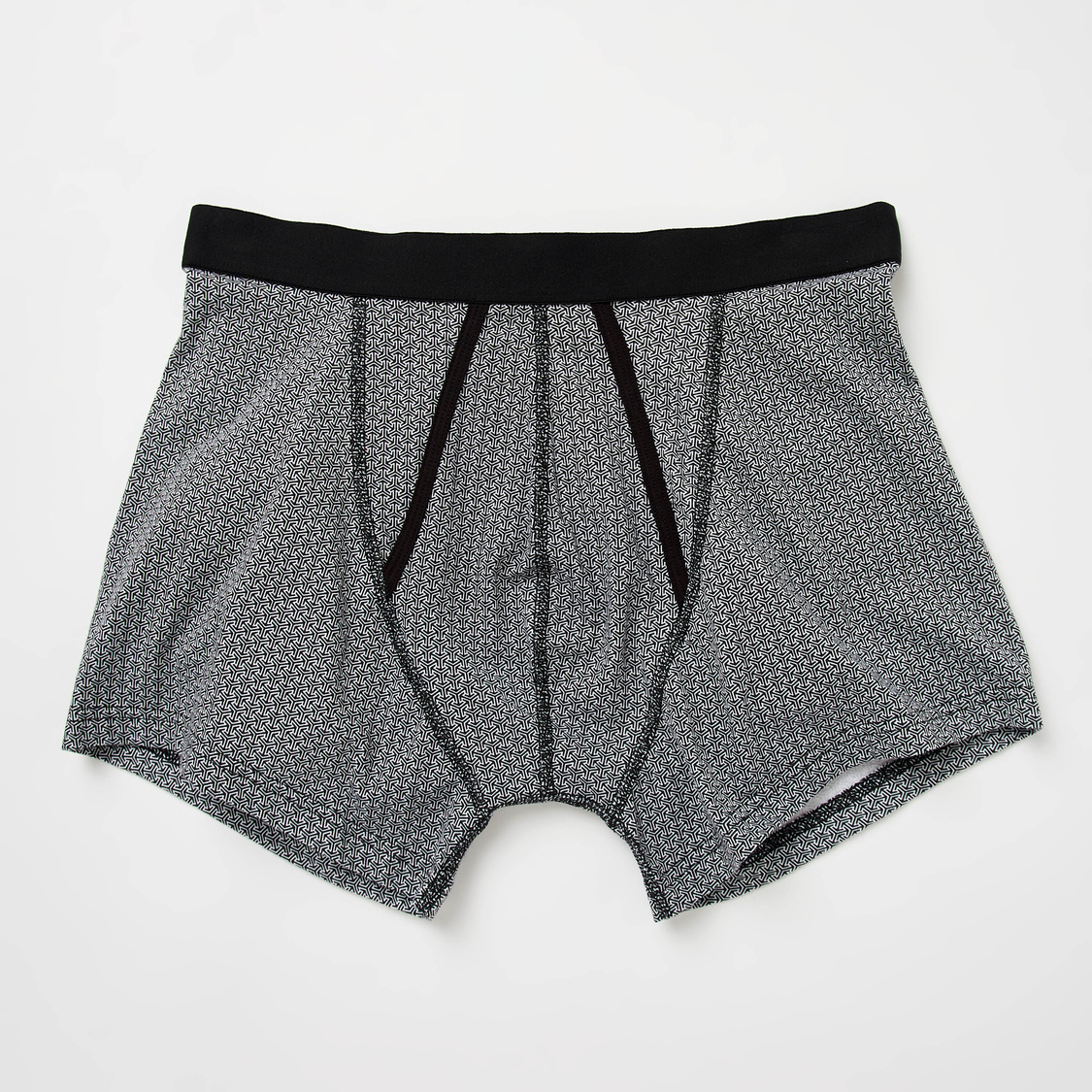 Set of 2 - Textured Boxers with Elasticated Waistband