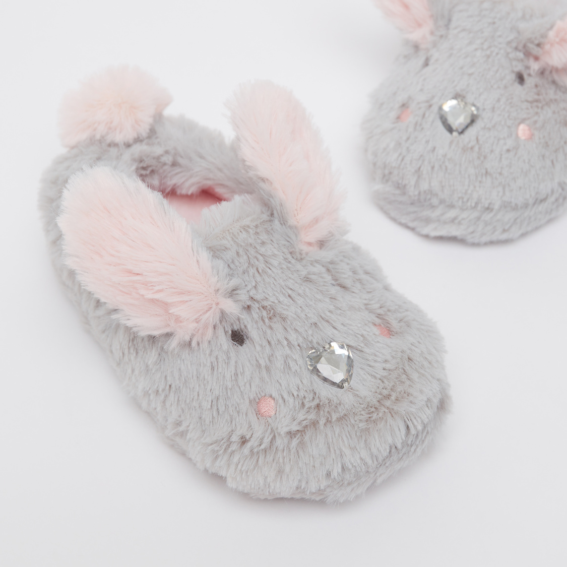 Plush Detail Bedroom Slippers