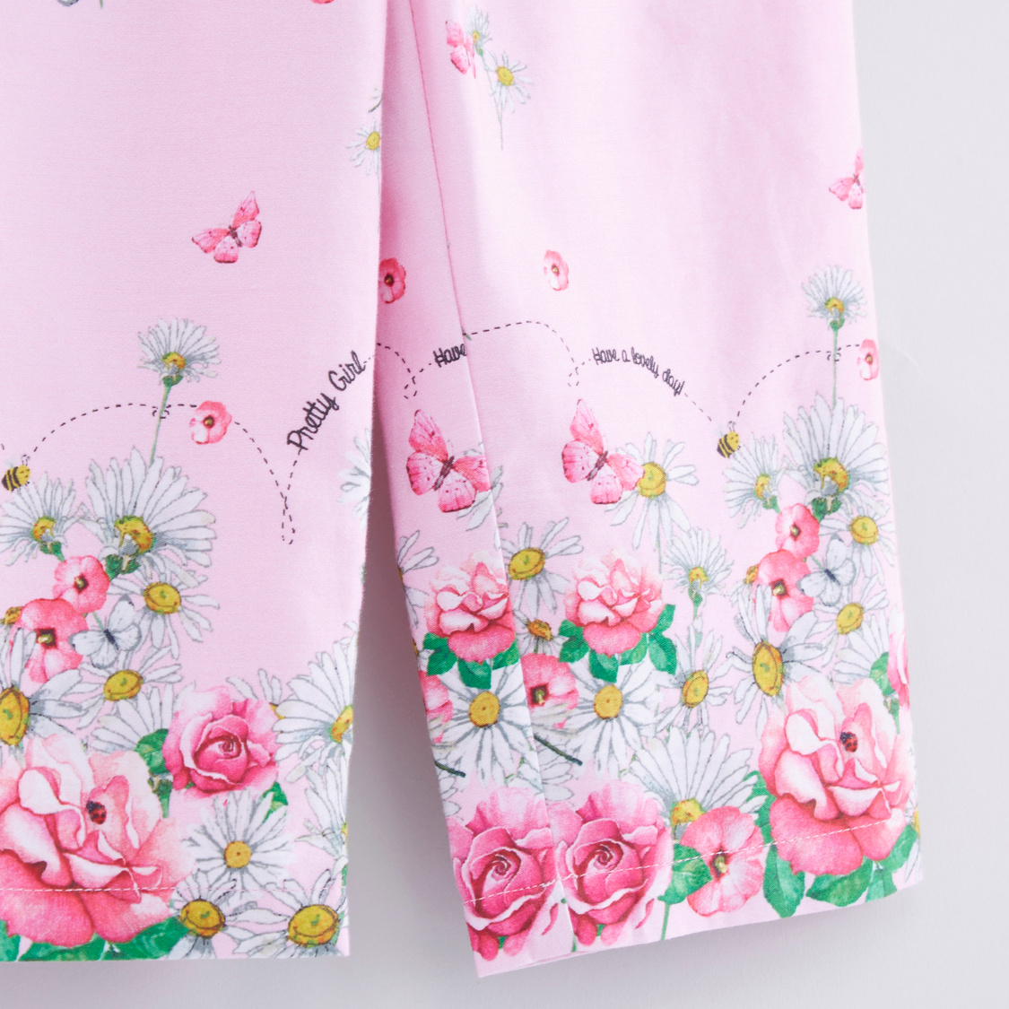 Floral Printed Trouser with Pocket Detail