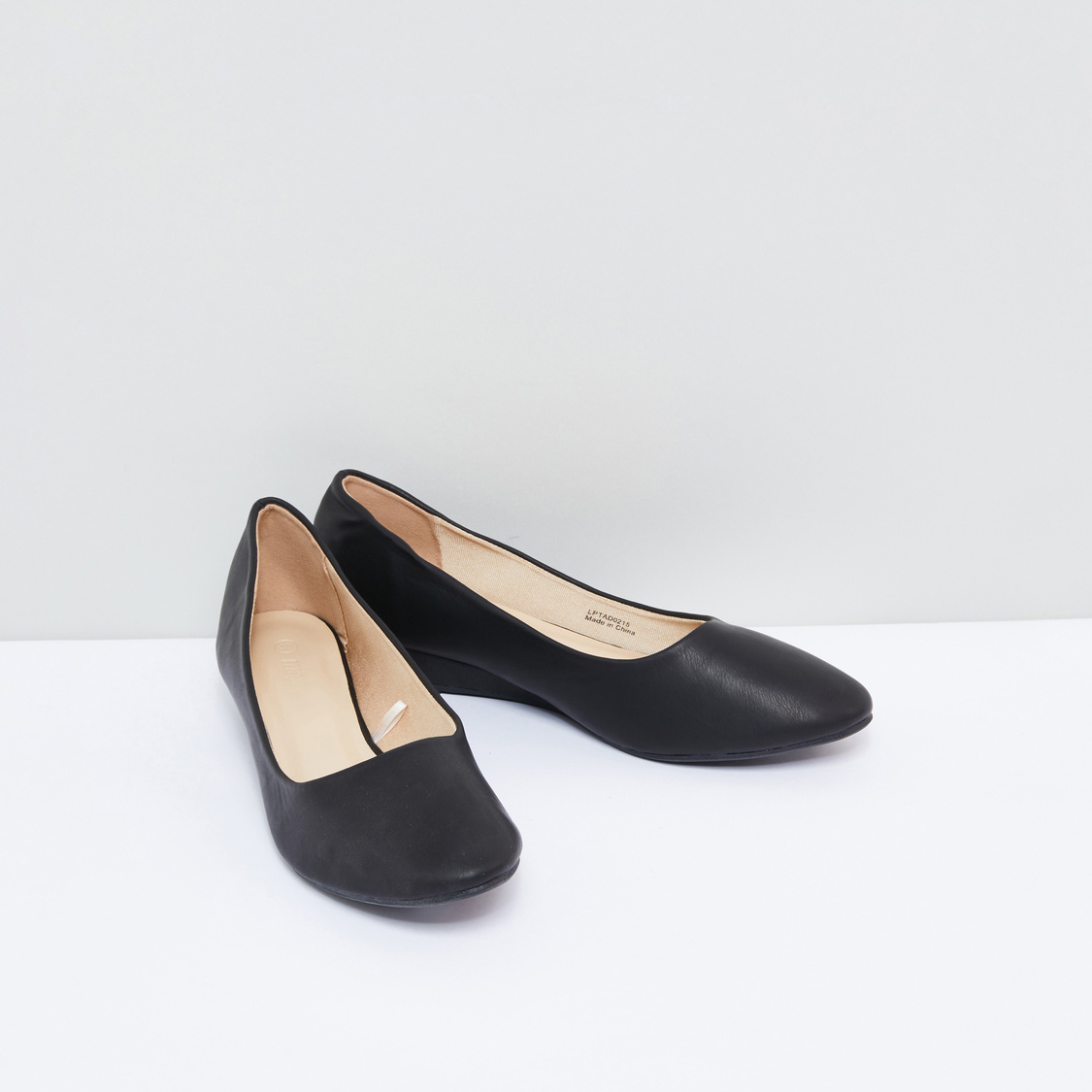 Slip-On Formal Shoes with Wedge Heels