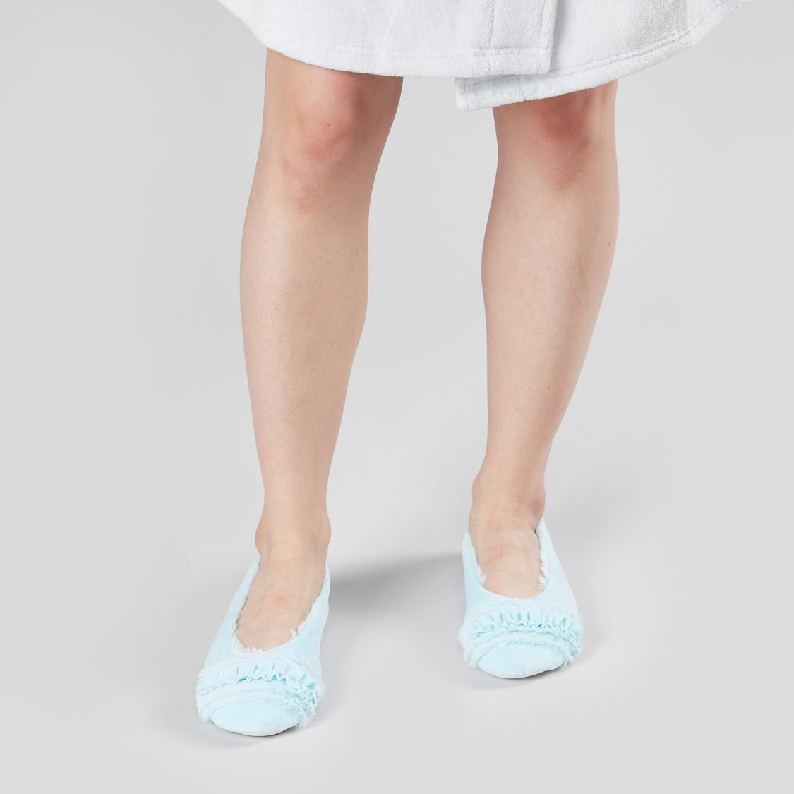 Plush Bedroom Shoes