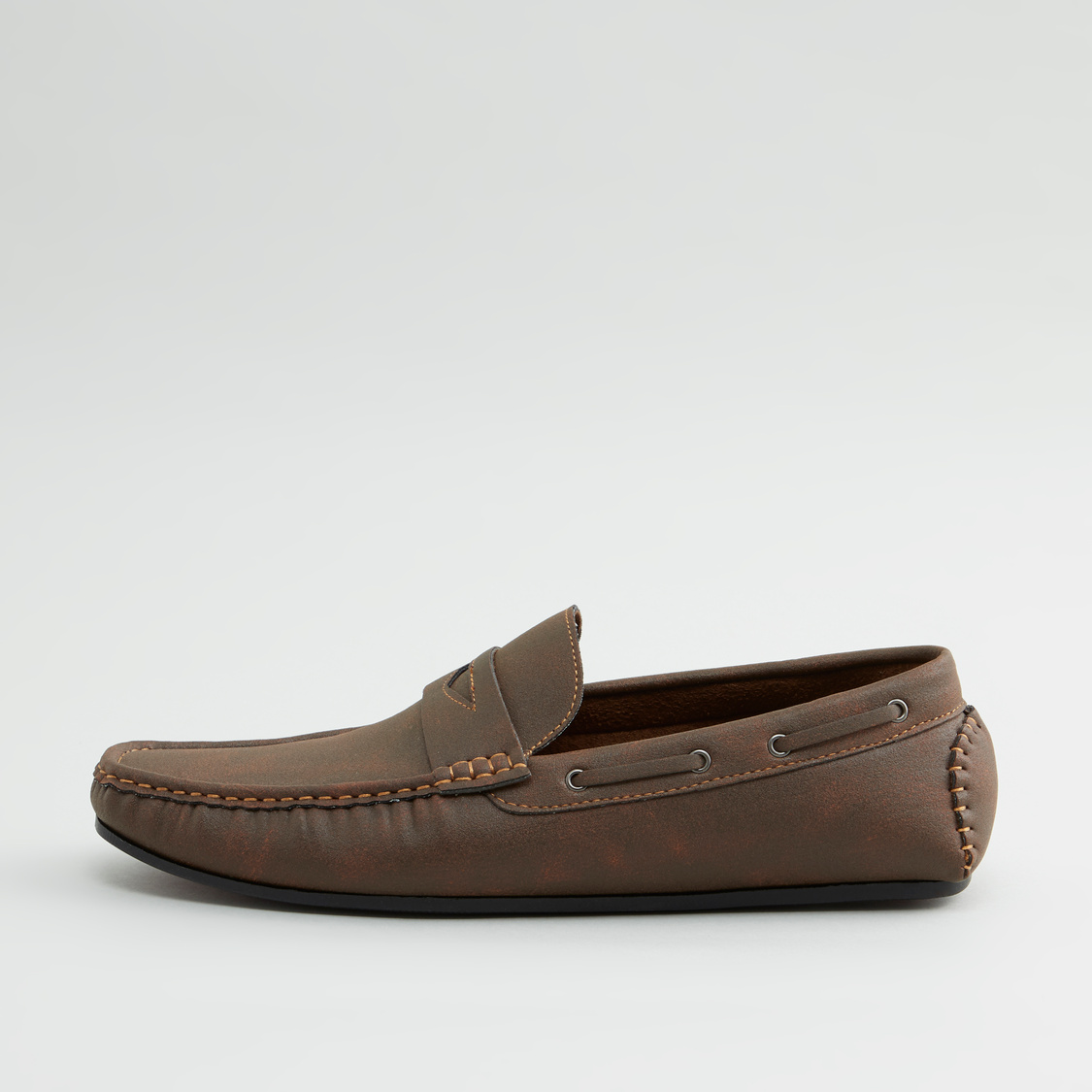 Stitch Detail Loafers