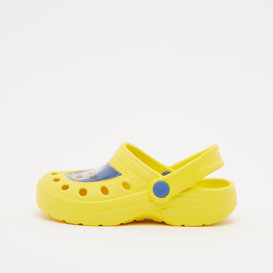 Minion Print Sandals with Singback