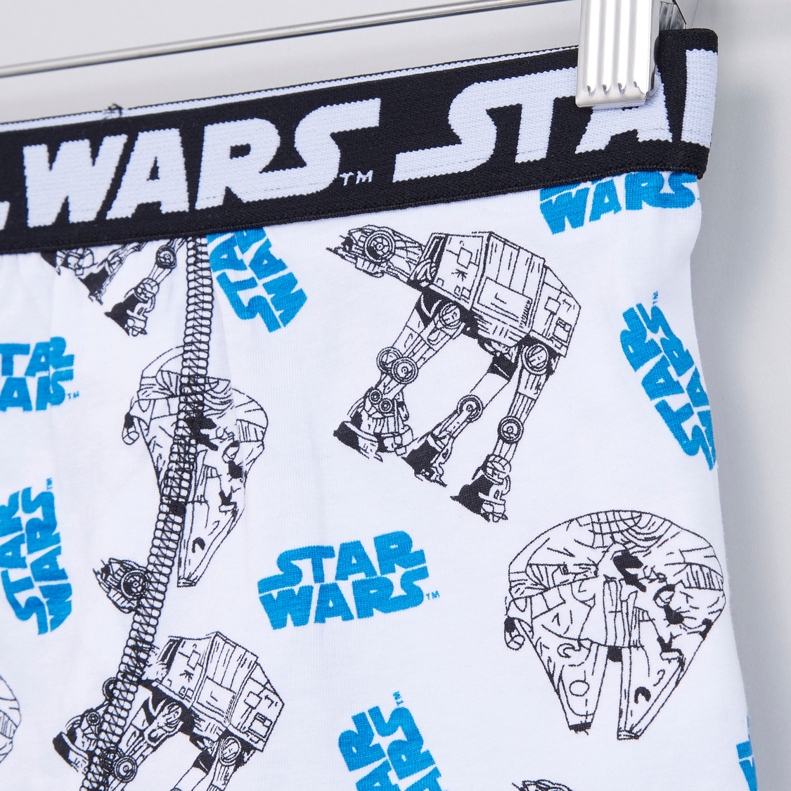 Star Wars Printed Briefs with Elasticised Waistband - Set of 3