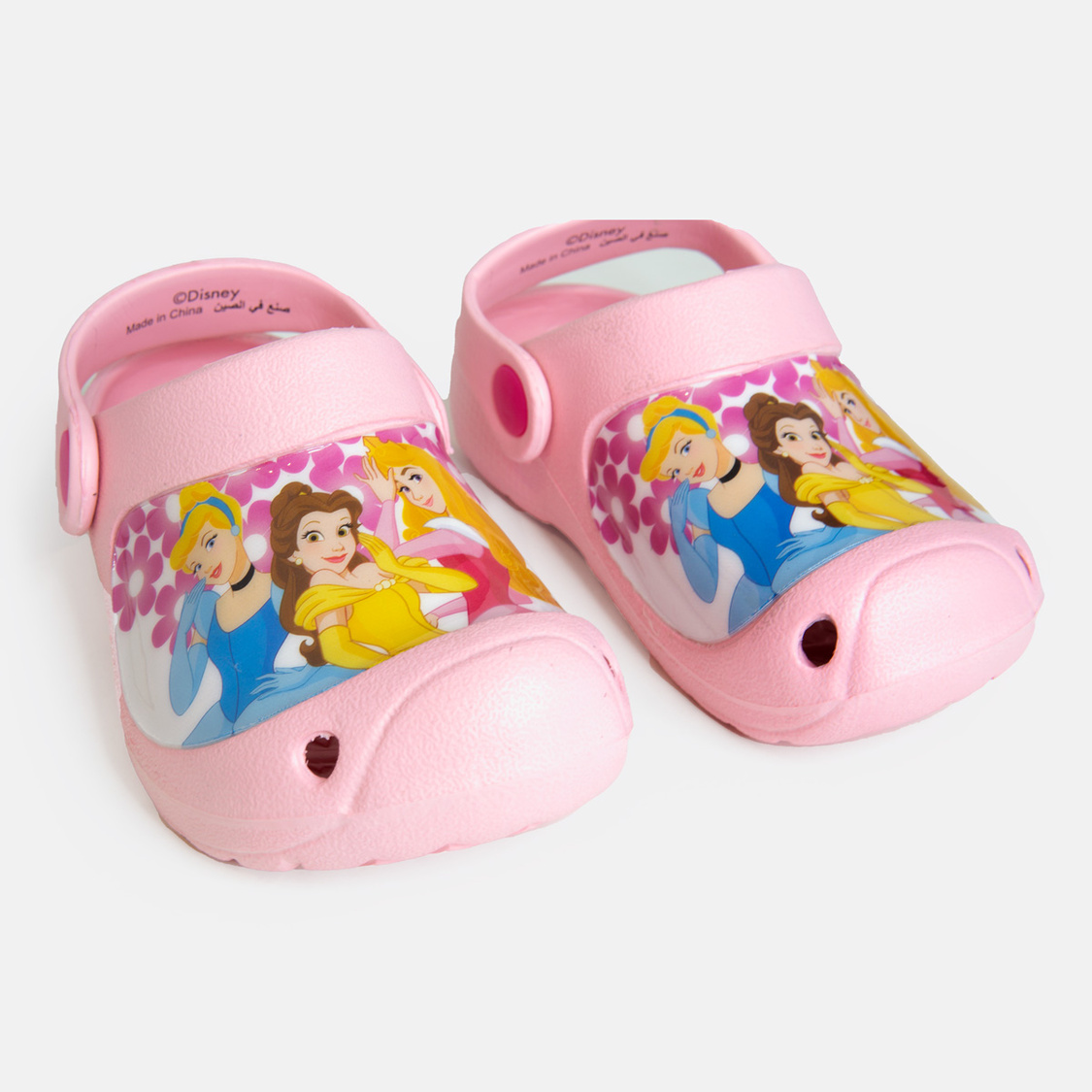 Princess Print Sandals with Straps