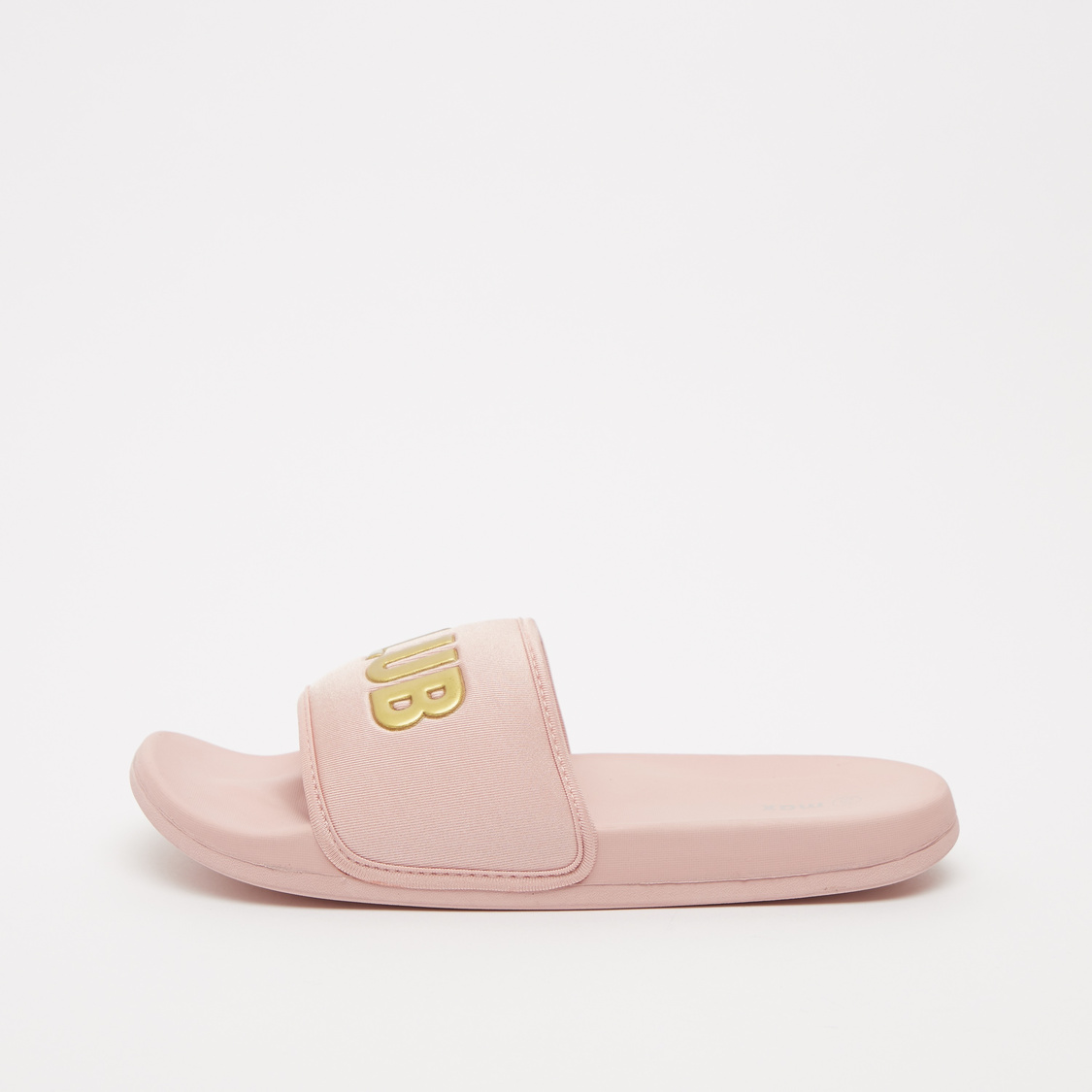 Printed Slides with Midsole Strap
