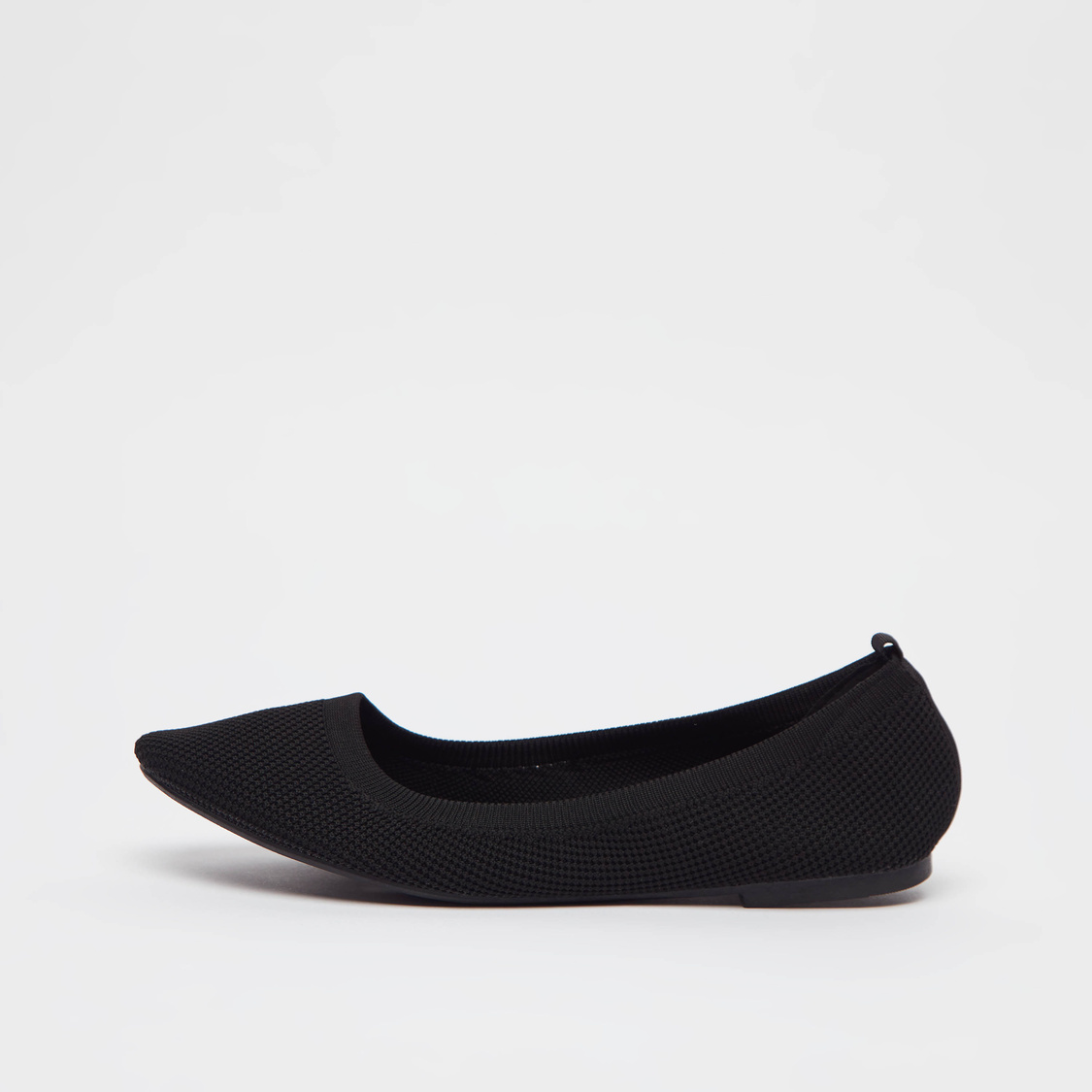 Textured Slip-On Shoes with Pull Tab