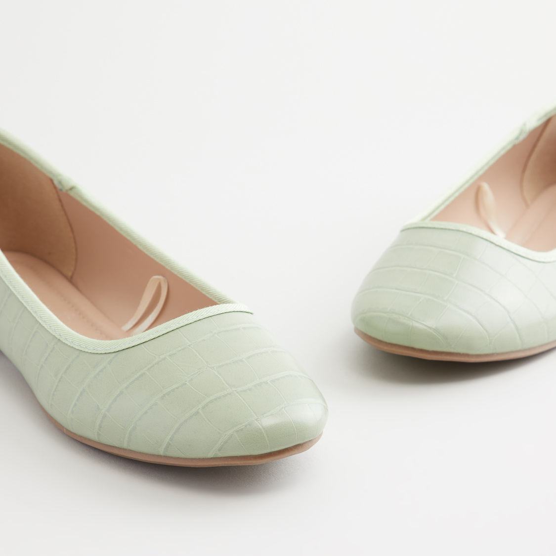 Textured Ballerinas