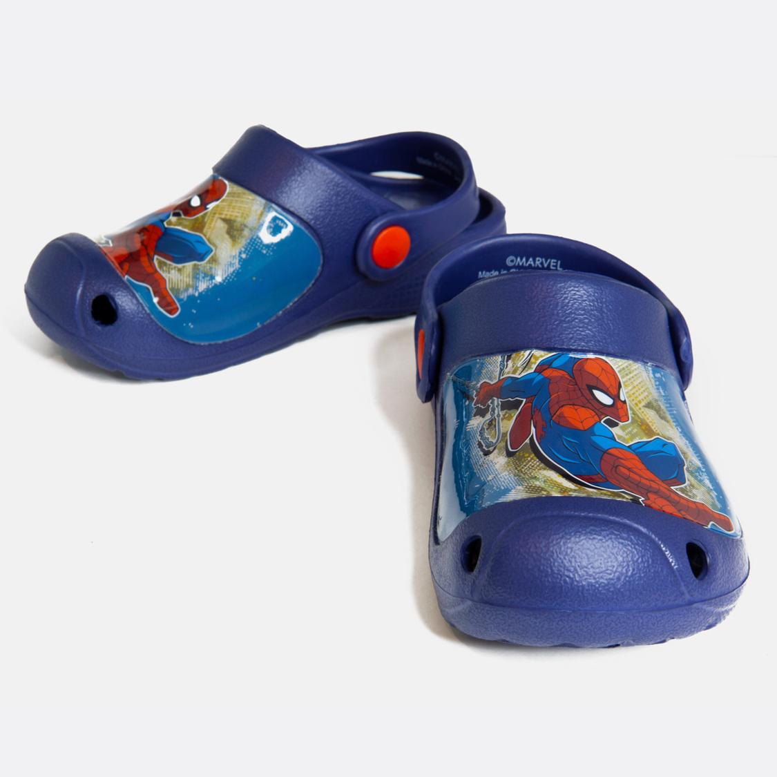 Spider-Man Print Sandals with Straps