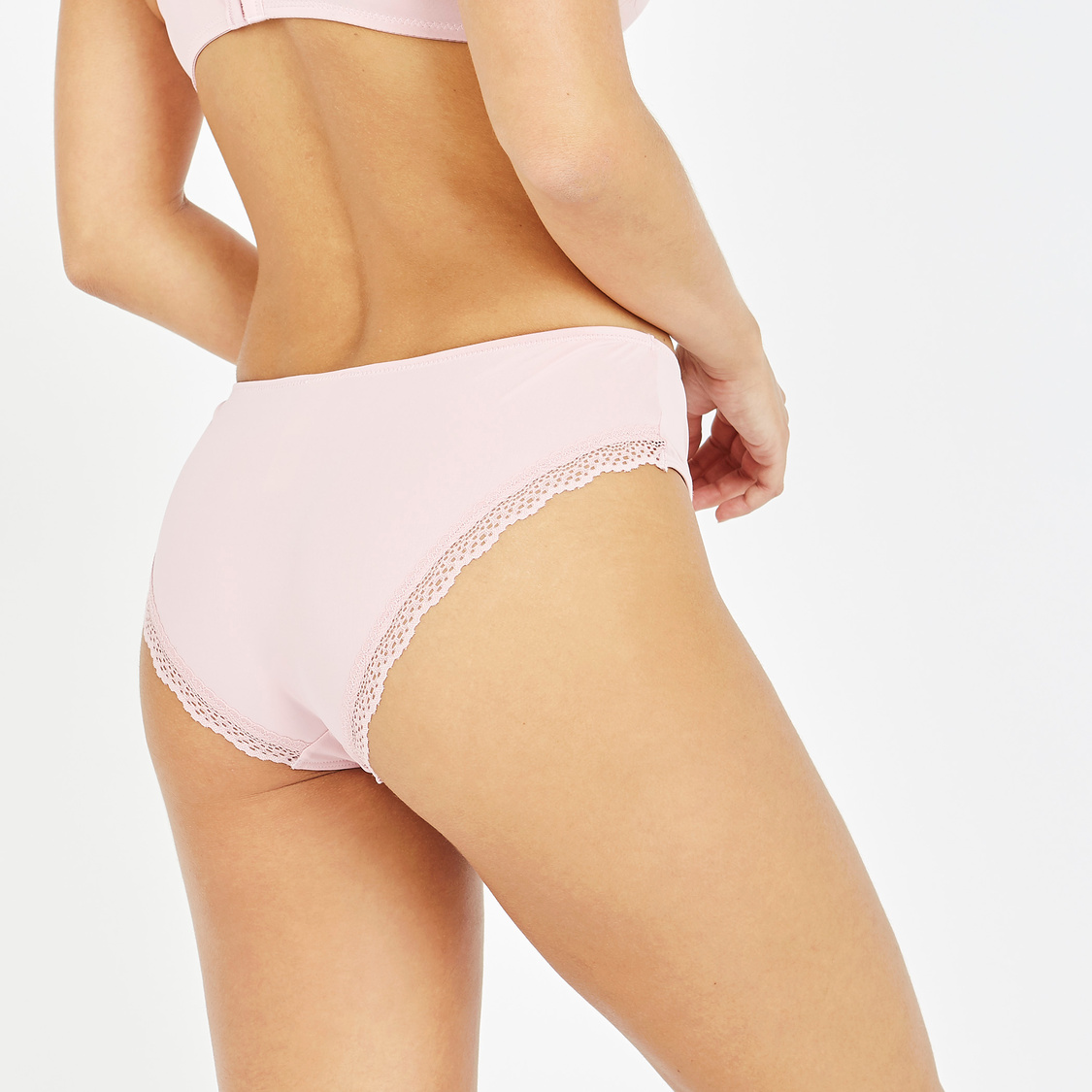 Set of 2- Assorted Brazilian Briefs with Elasticised Waistband