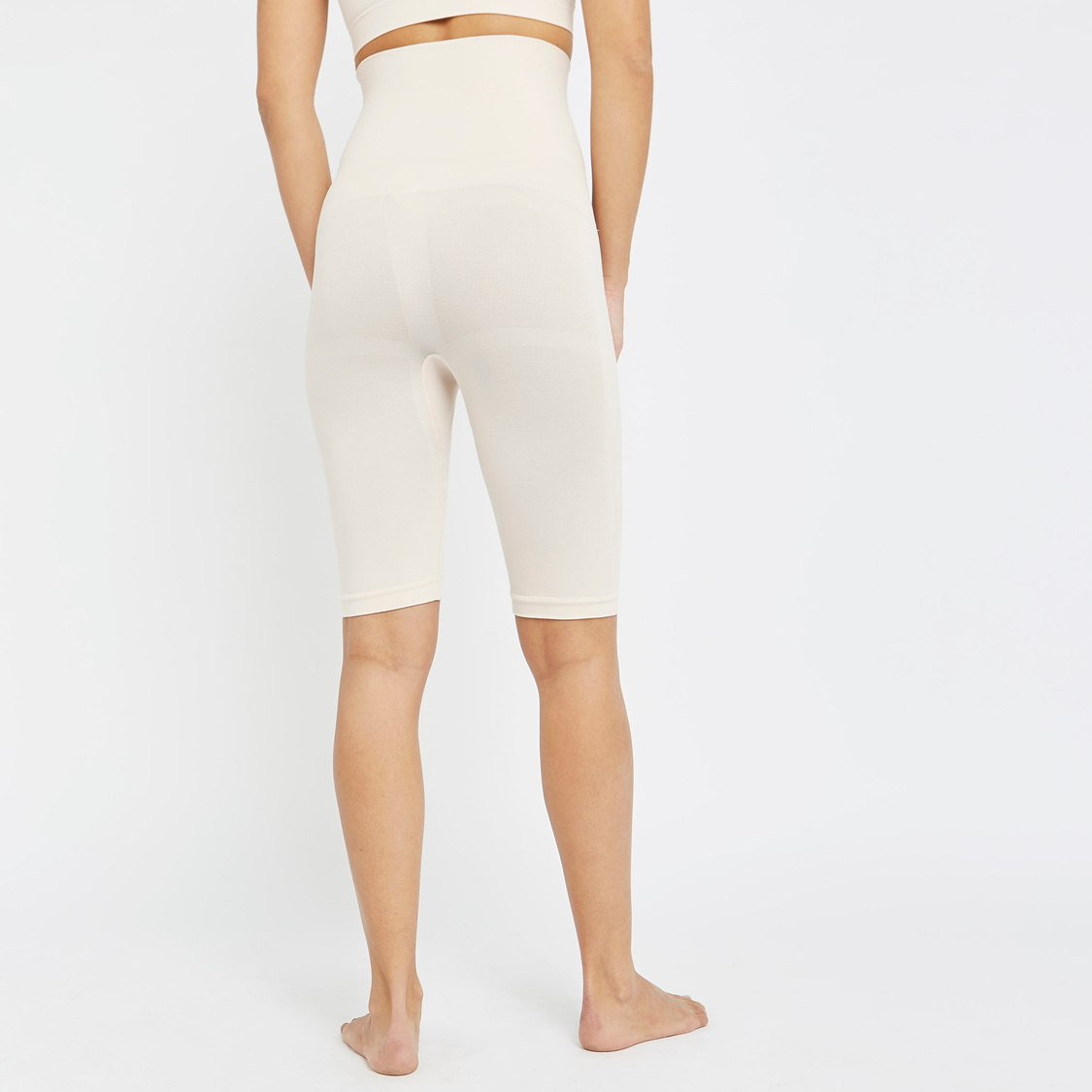 Textured Shaping Leggings with Elasticised Waistband