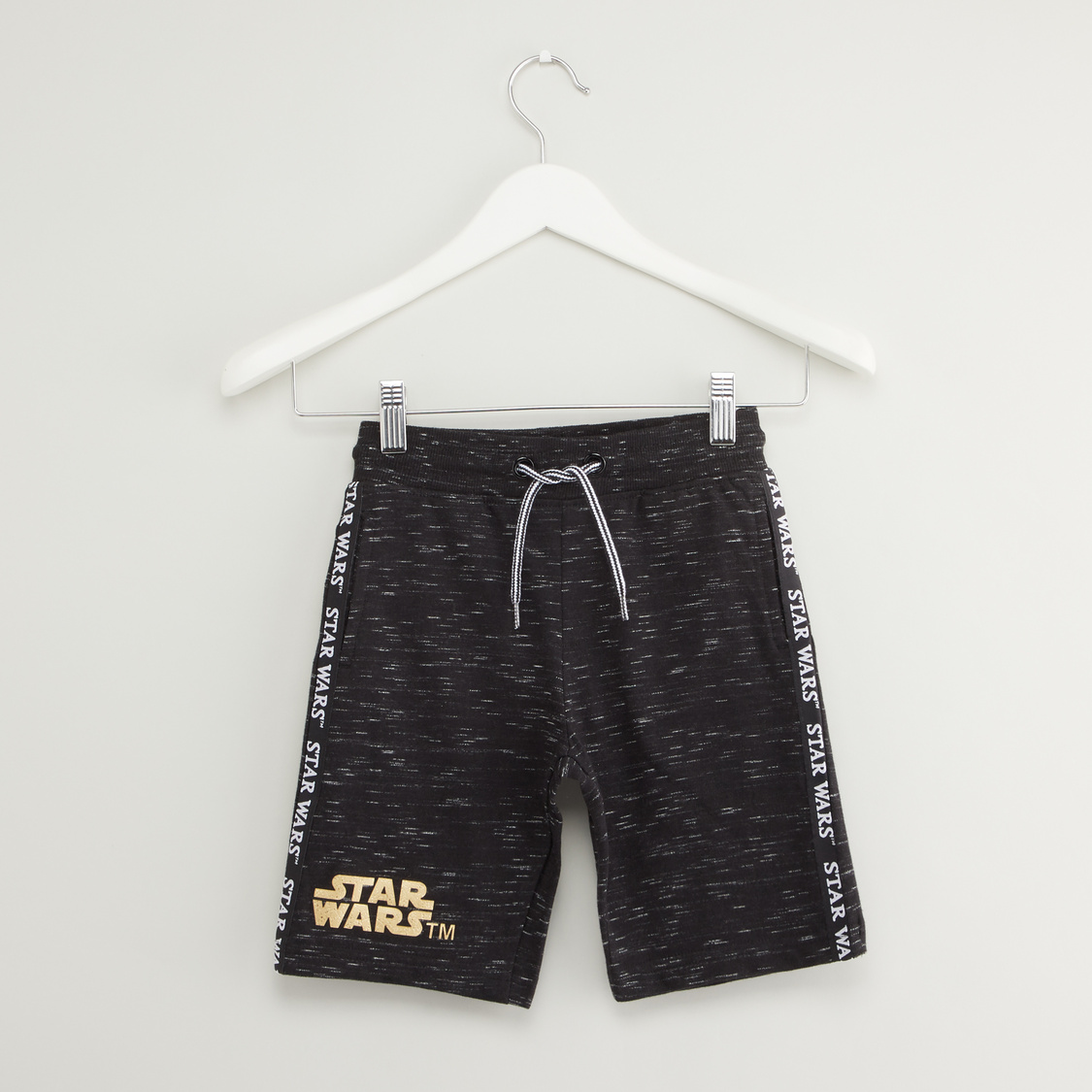 Star Wars Print T-shirt and Shorts Set
