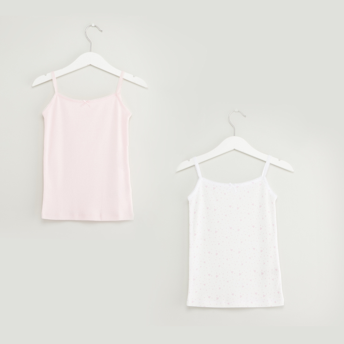 Set of 2 - Assorted Camisole with Spaghetti Straps